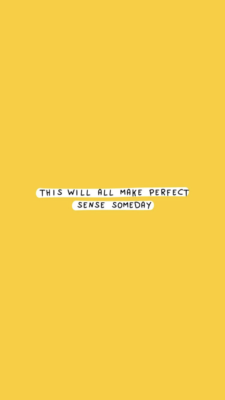 Yellow Aesthetic Quotes Wallpapers - Top Free Yellow Aesthetic