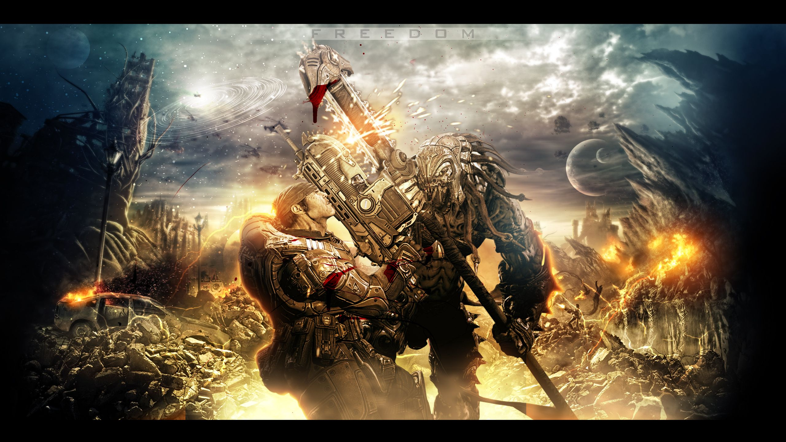 Gears Of War 3 Wallpapers Top Free Gears Of War 3 Backgrounds