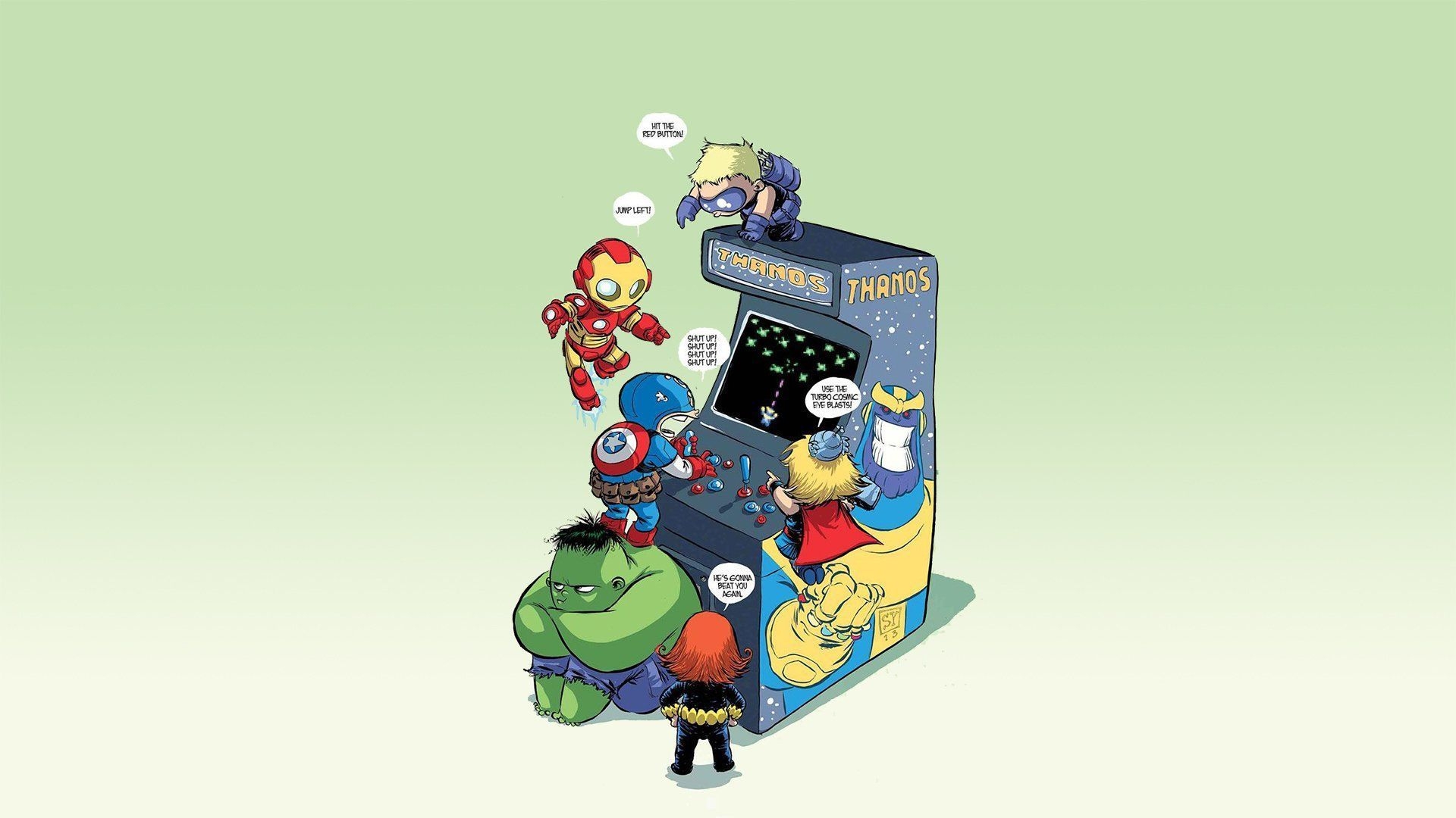 Baby Avengers Wallpapers Top Free Baby Avengers Backgrounds Wallpaperaccess