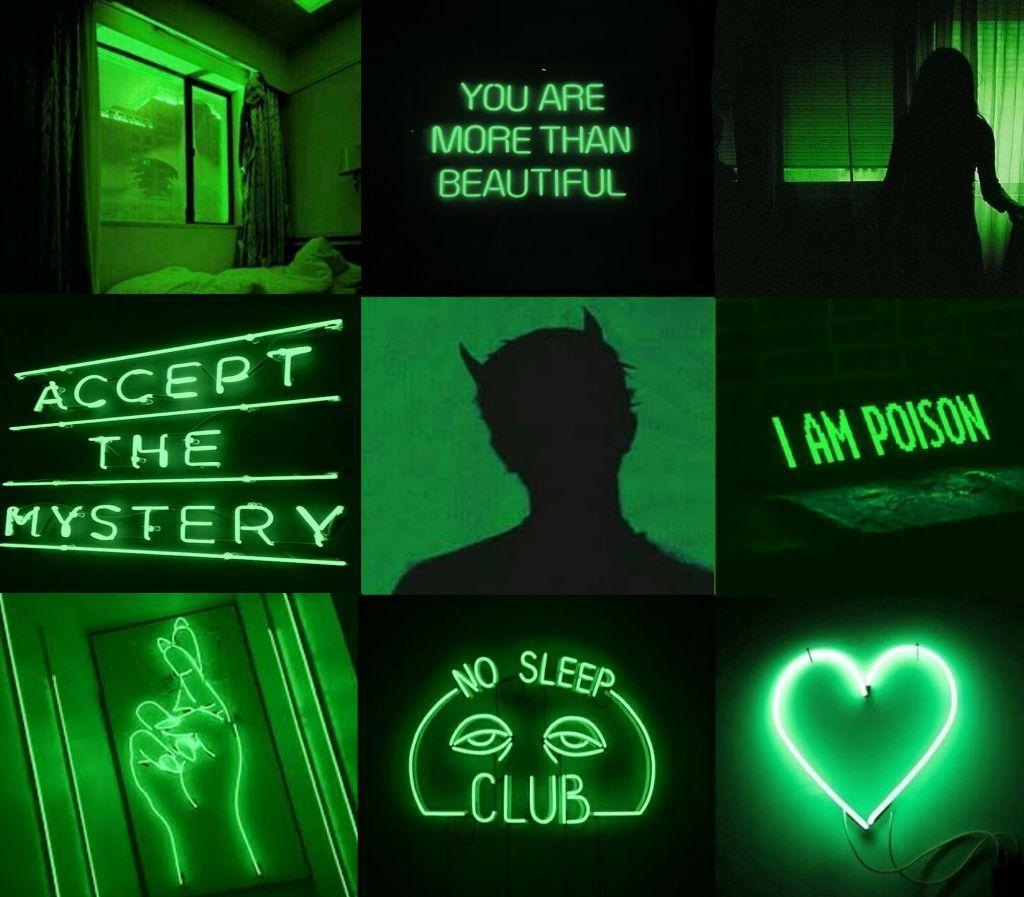 Neon Green Aesthetic Wallpapers Top Free Neon Green Aesthetic Backgrounds Wallpaperaccess
