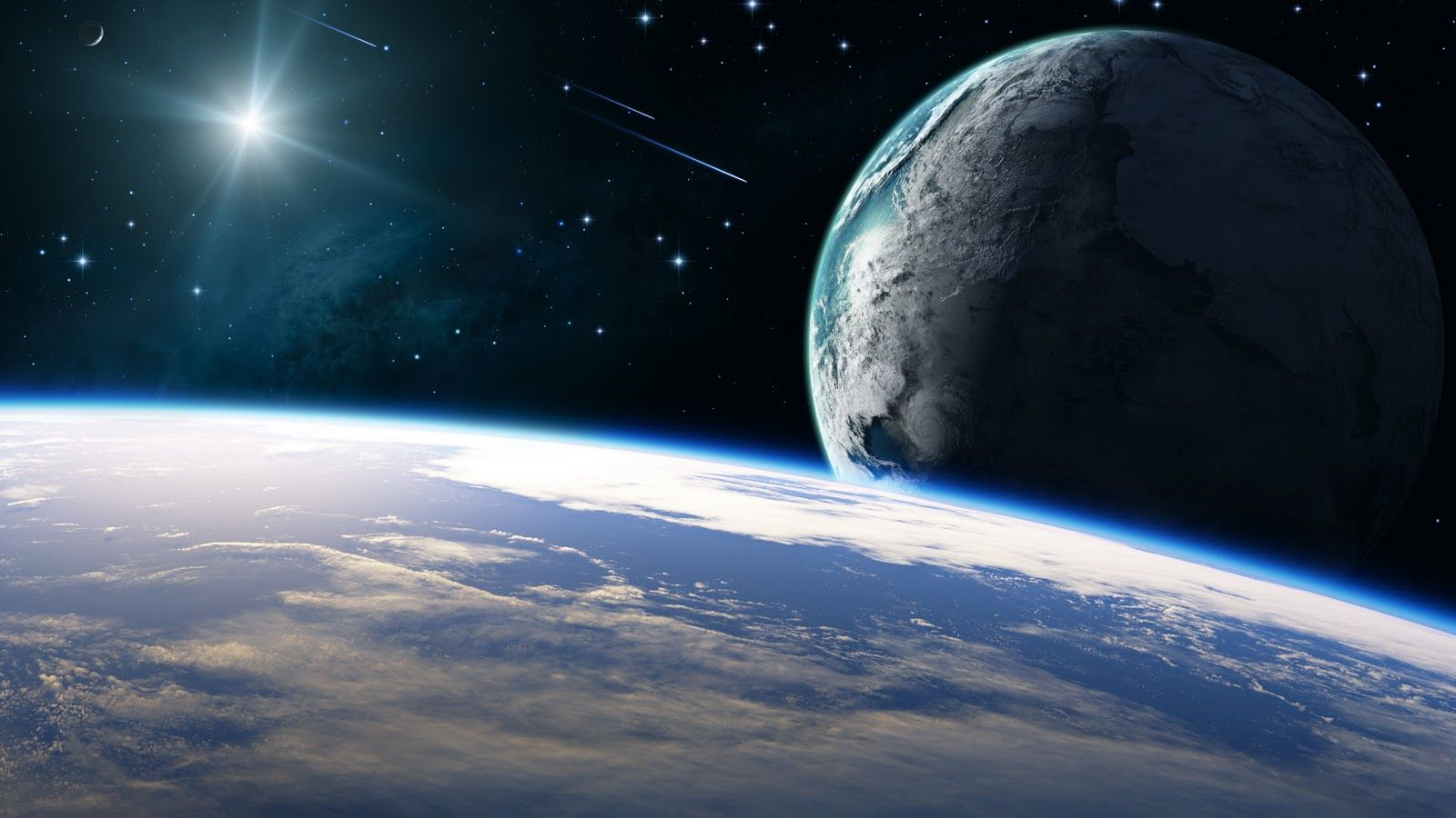 Earth From Outer Space Wallpapers Top Free Earth From