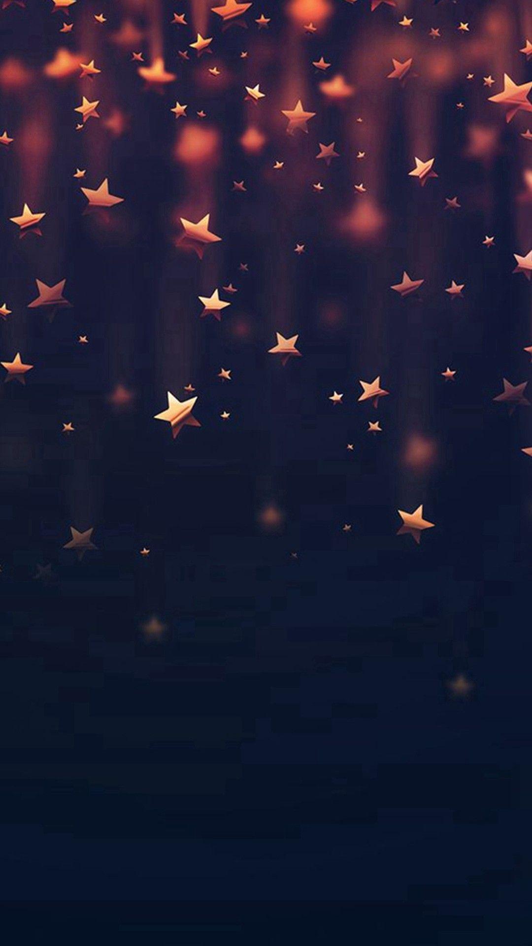 iPhone Background Glitter Star Glitter Phone Wallpaper Star