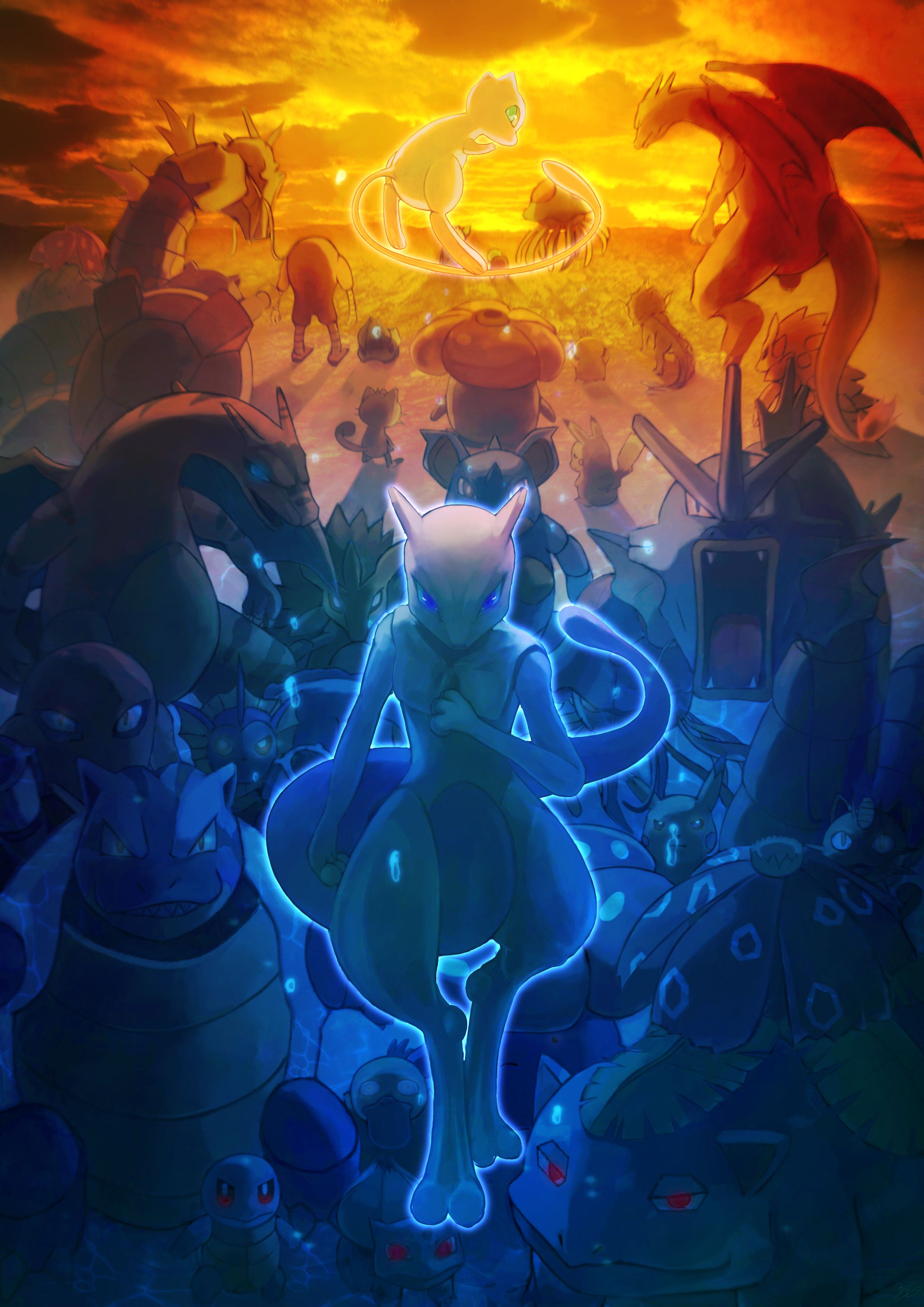 Pokemon The First Movie Mewtwo Strikes Back Wallpapers Top Free