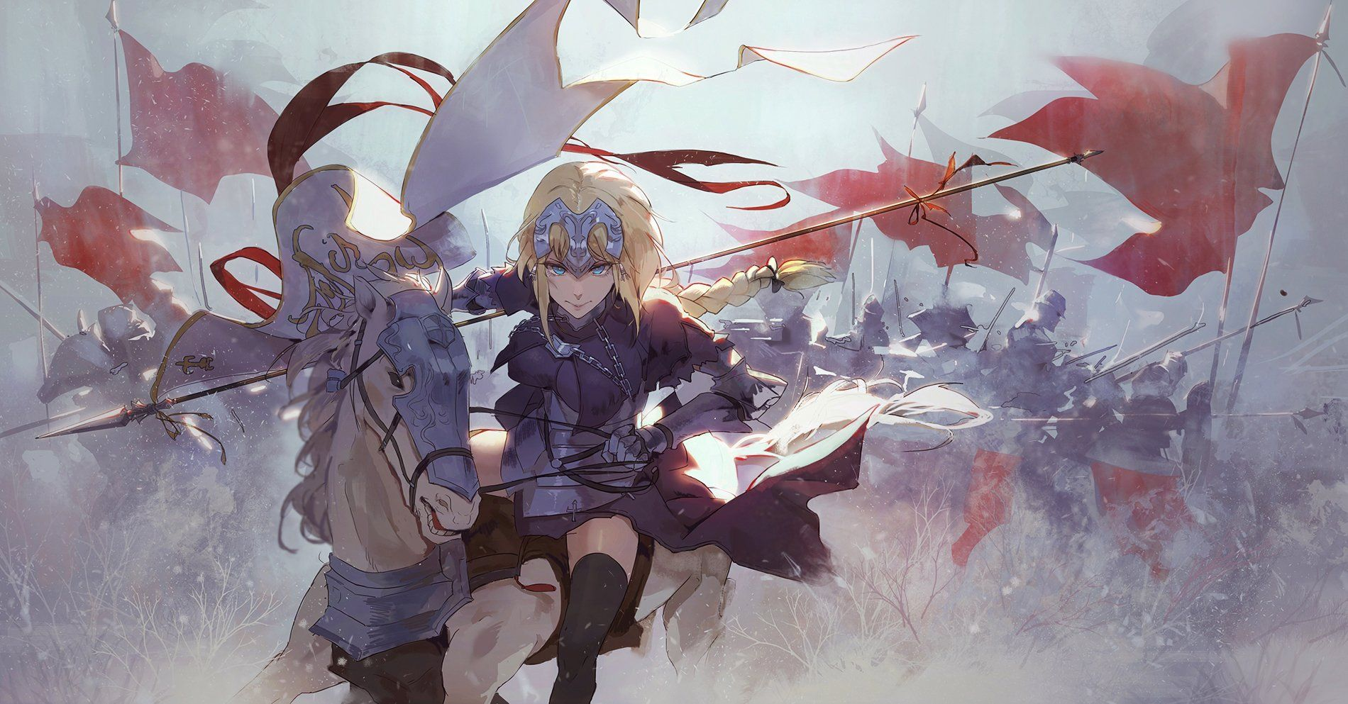 Fate Apocrypha Wallpapers Top Free Fate Apocrypha Backgrounds
