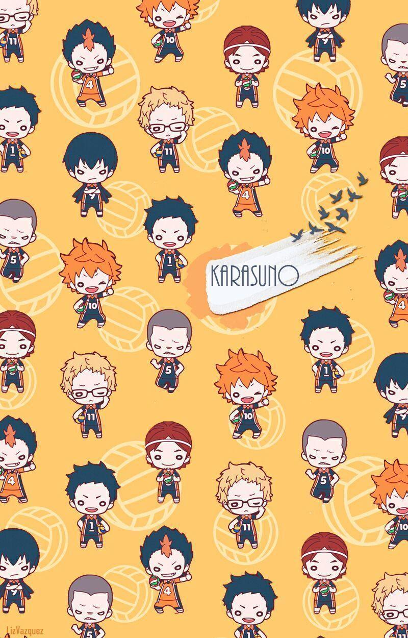 Minimalist Haikyuu Wallpaper Iphone - Anime Wallpaper HD