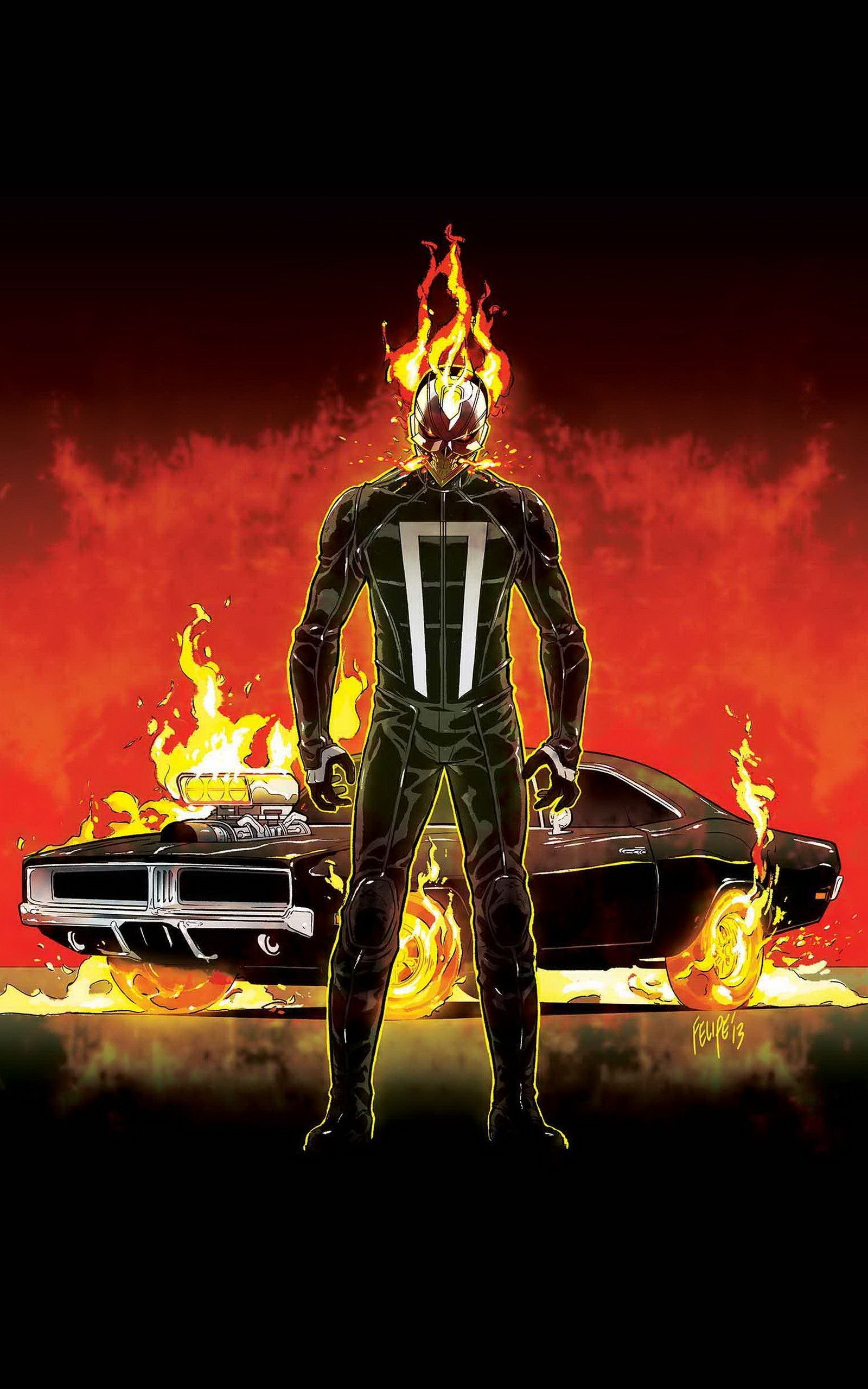 Ghost Rider Iphone Wallpapers Top Free Ghost Rider Iphone