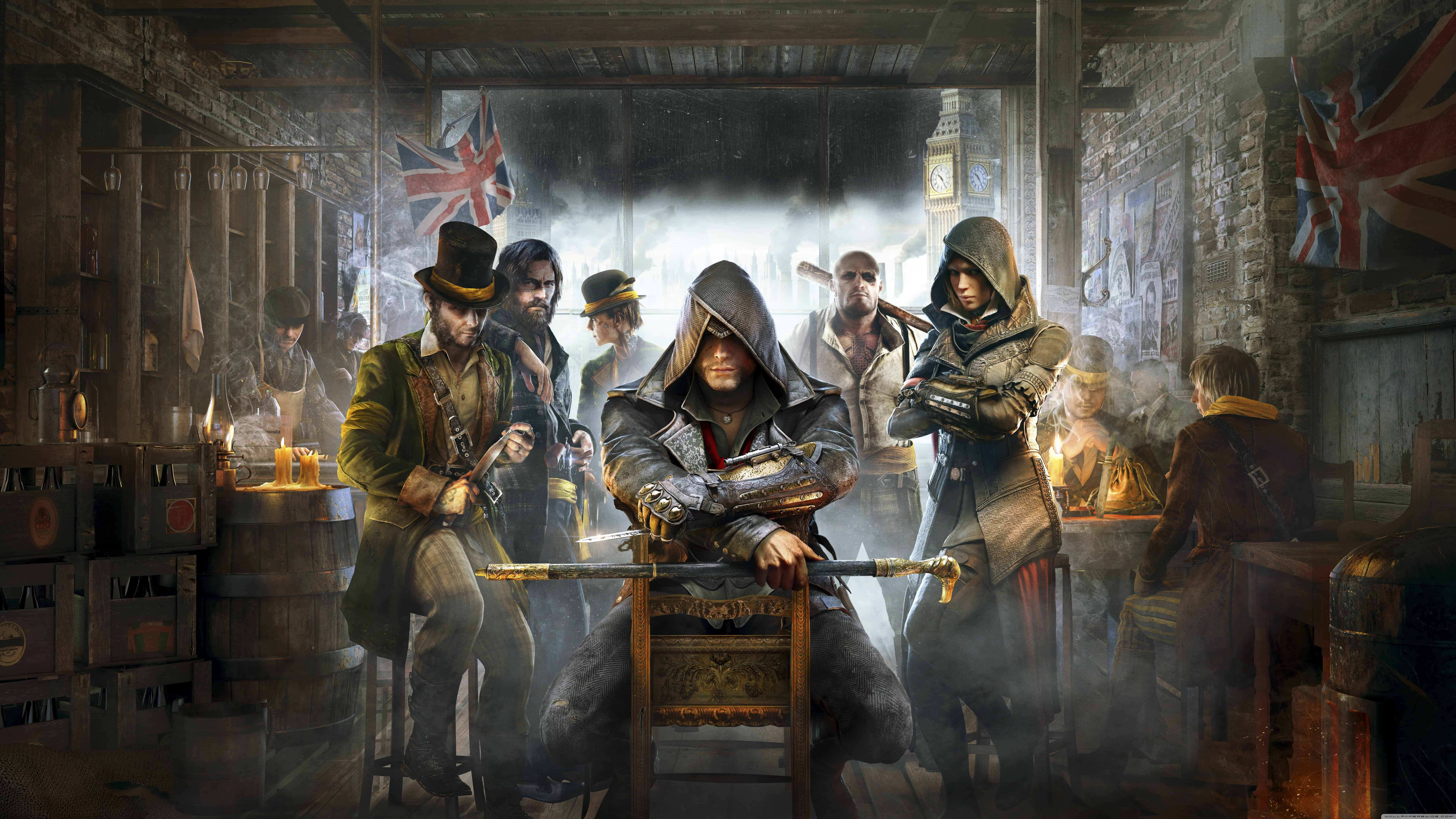 assassins creed syndicate wallpaper for pc