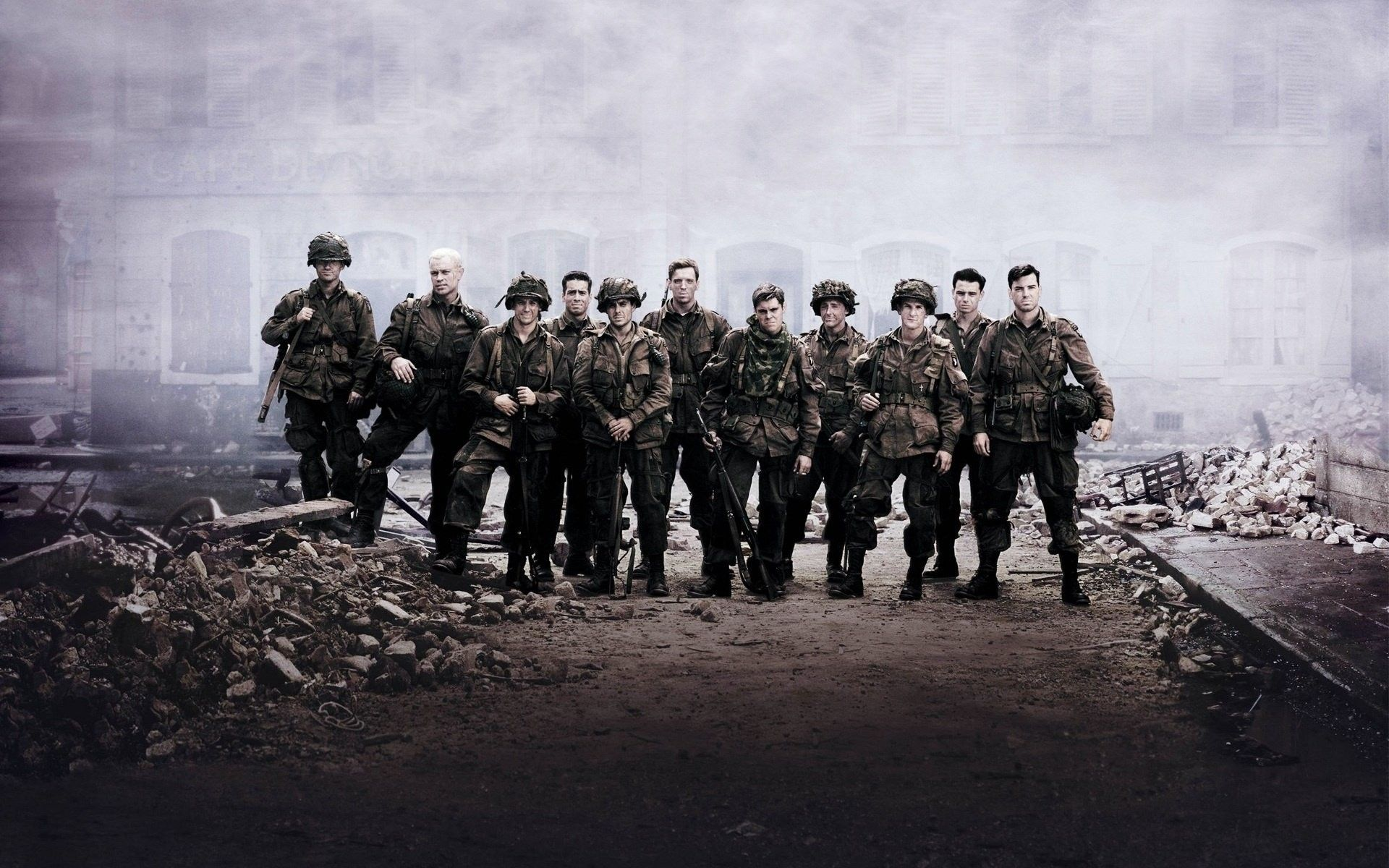 Band of Brothers Wallpapers - Top Free Band of Brothers Backgrounds - WallpaperAccess