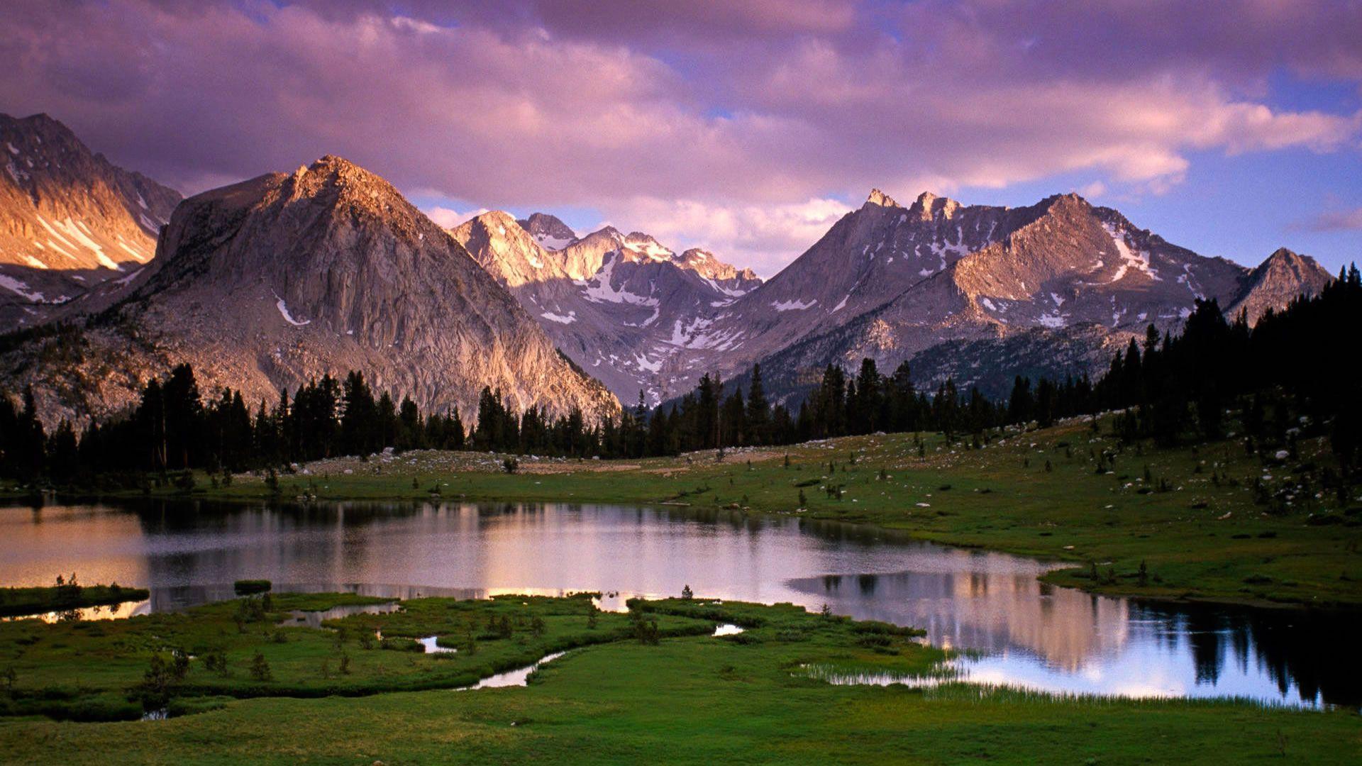 1920x1080 River And Mountain Wallpaper HD Hình nền