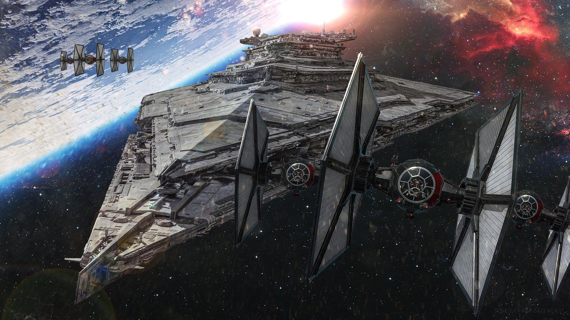 Tie Fighter Wallpapers Top Free Tie Fighter Backgrounds Wallpaperaccess