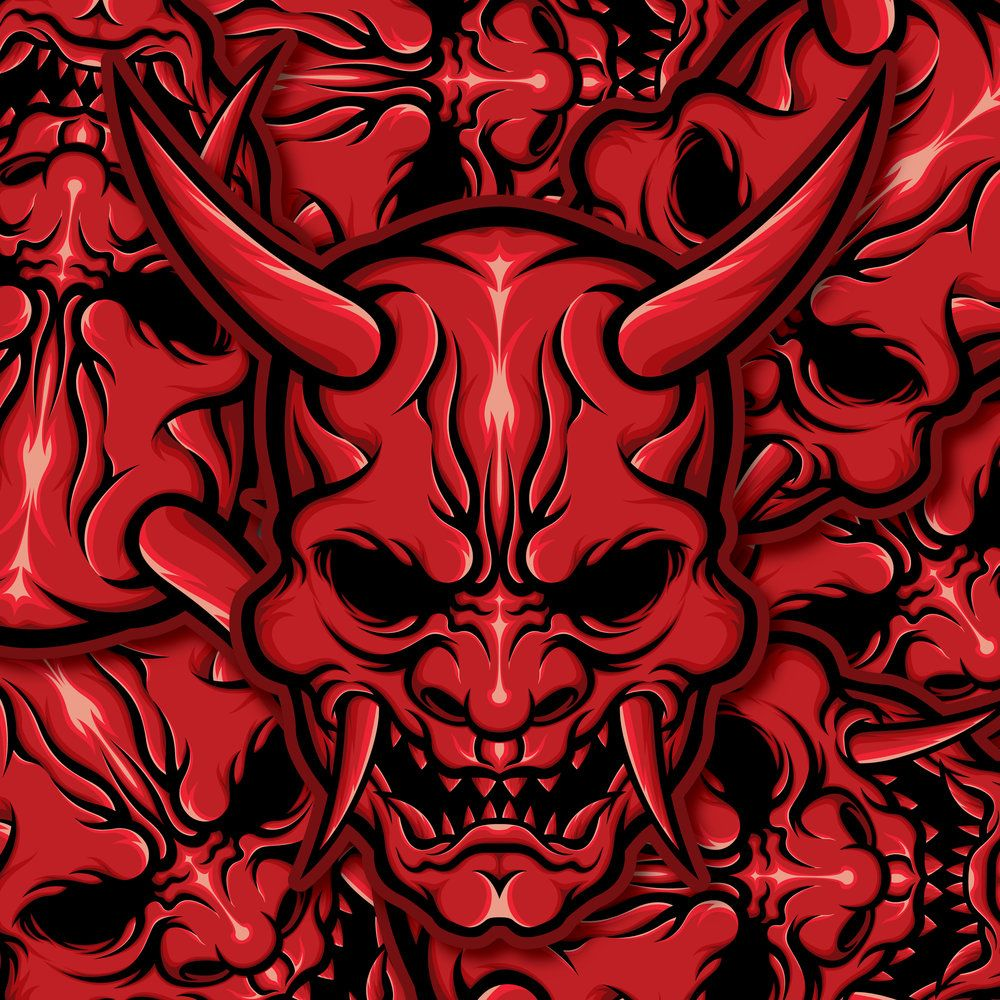 Japanese Oni Wallpapers Top Free Japanese Oni Backgrounds Wallpaperaccess Find & download free graphic resources for oni mask. japanese oni wallpapers top free