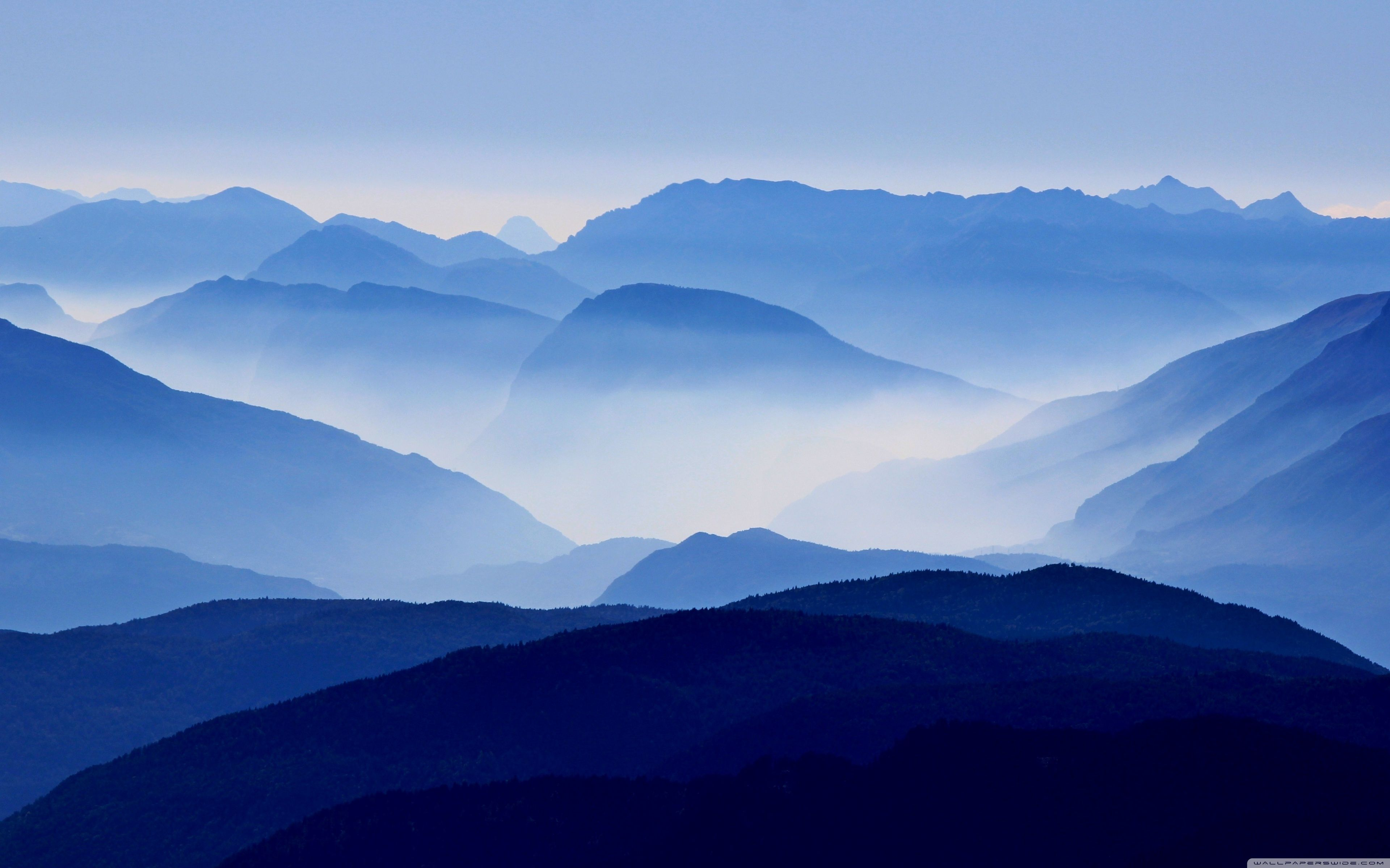 Blue Mountain Wallpapers Top Free Blue Mountain Backgrounds Wallpaperaccess