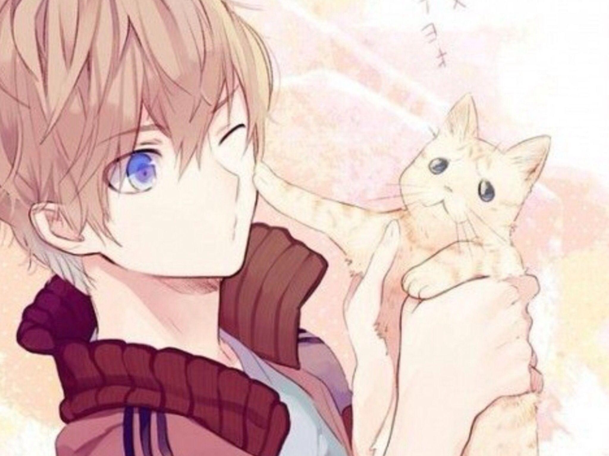 2048x1536 Hình nền những chàng trai trong anime đáng yêu