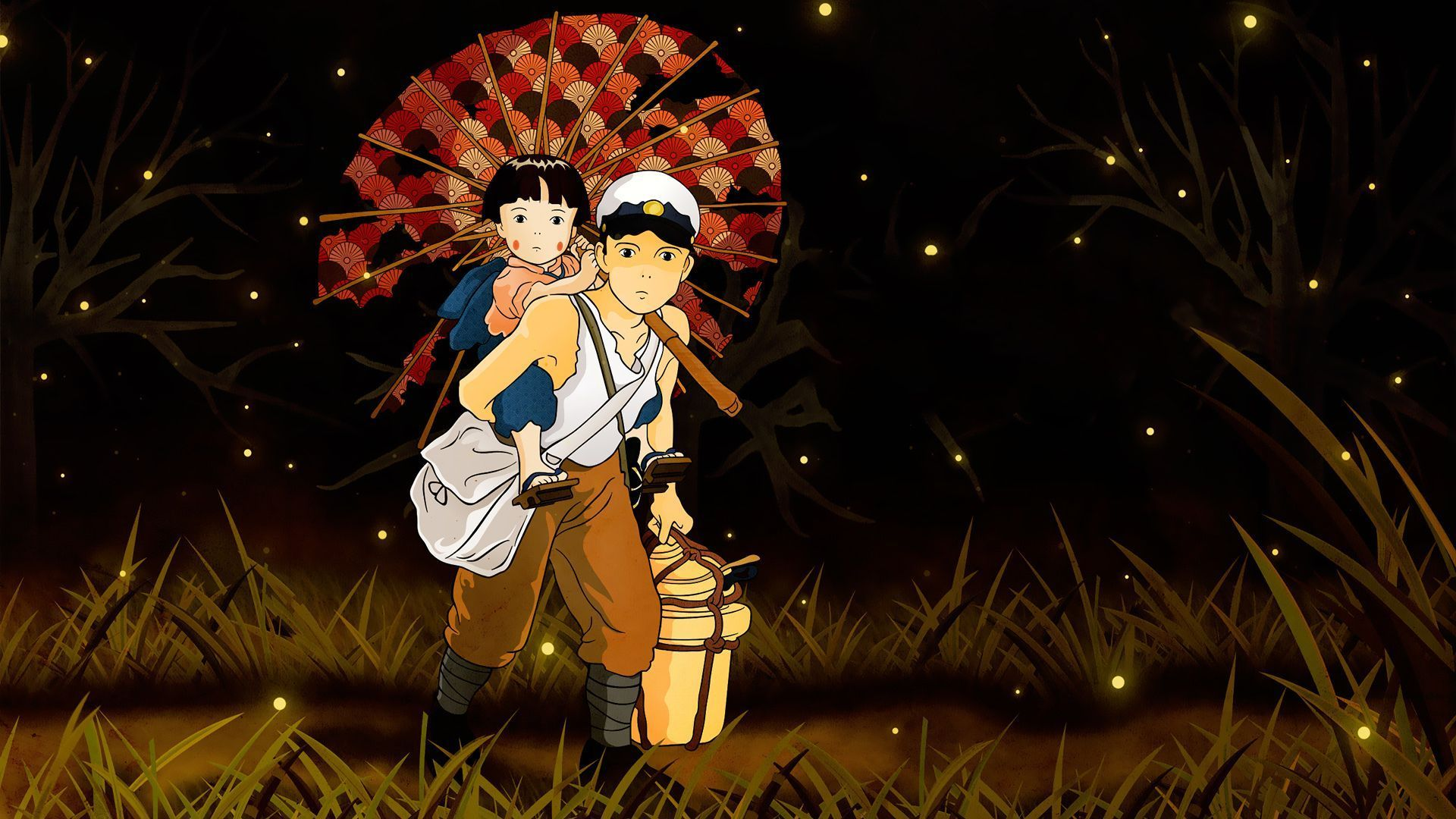 Grave Of The Fireflies Wallpapers Top Free Grave Of The Fireflies Backgrounds Wallpaperaccess