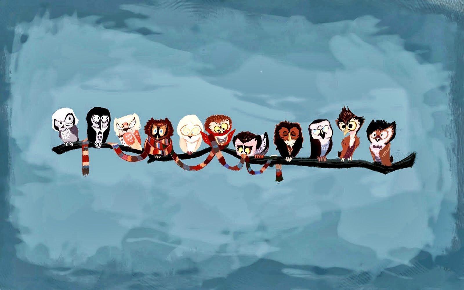 40 Best Free Cartoon Owl Wallpapers Wallpaperaccess