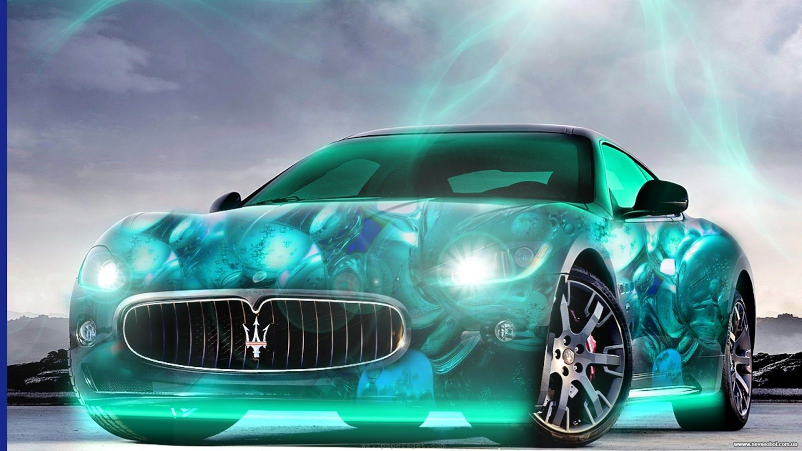 1600x900 hình nền xe hơi 3D