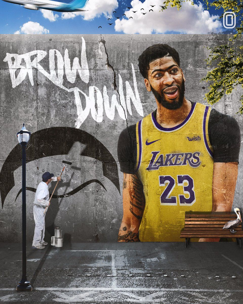 Anthony Davis Lakers Wallpapers - Top Free Anthony Davis ...