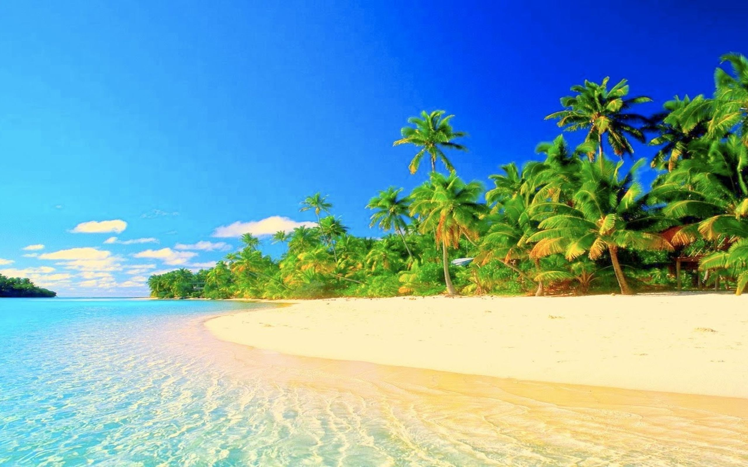 Hd Tropical Island Beach Paradise Wallpapers And Backgrounds: Tropical Paradise Desktop Wallpapers