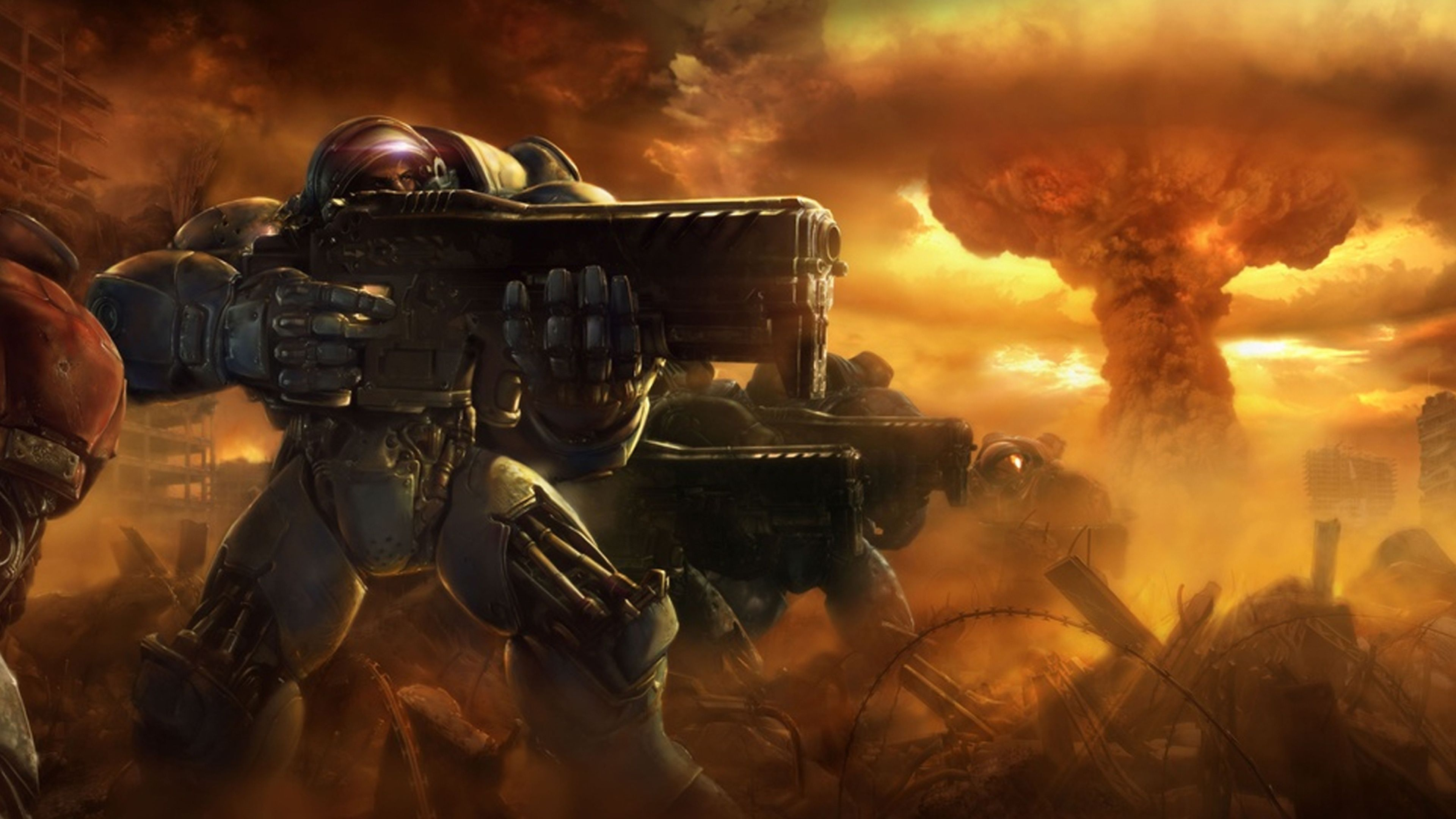 Starcraft 2 4k Ultra Hd Wallpapers Top Free Starcraft 2 4k