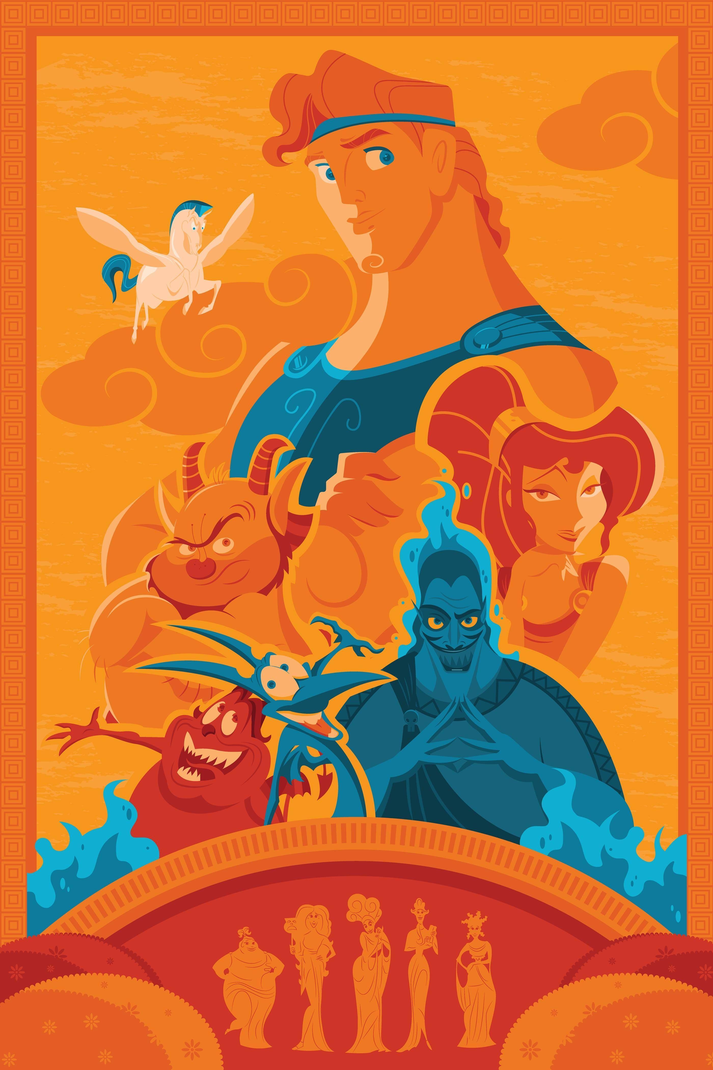 Hercules Disney Wallpapers Top Free Hercules Disney Backgrounds Wallpaperaccess