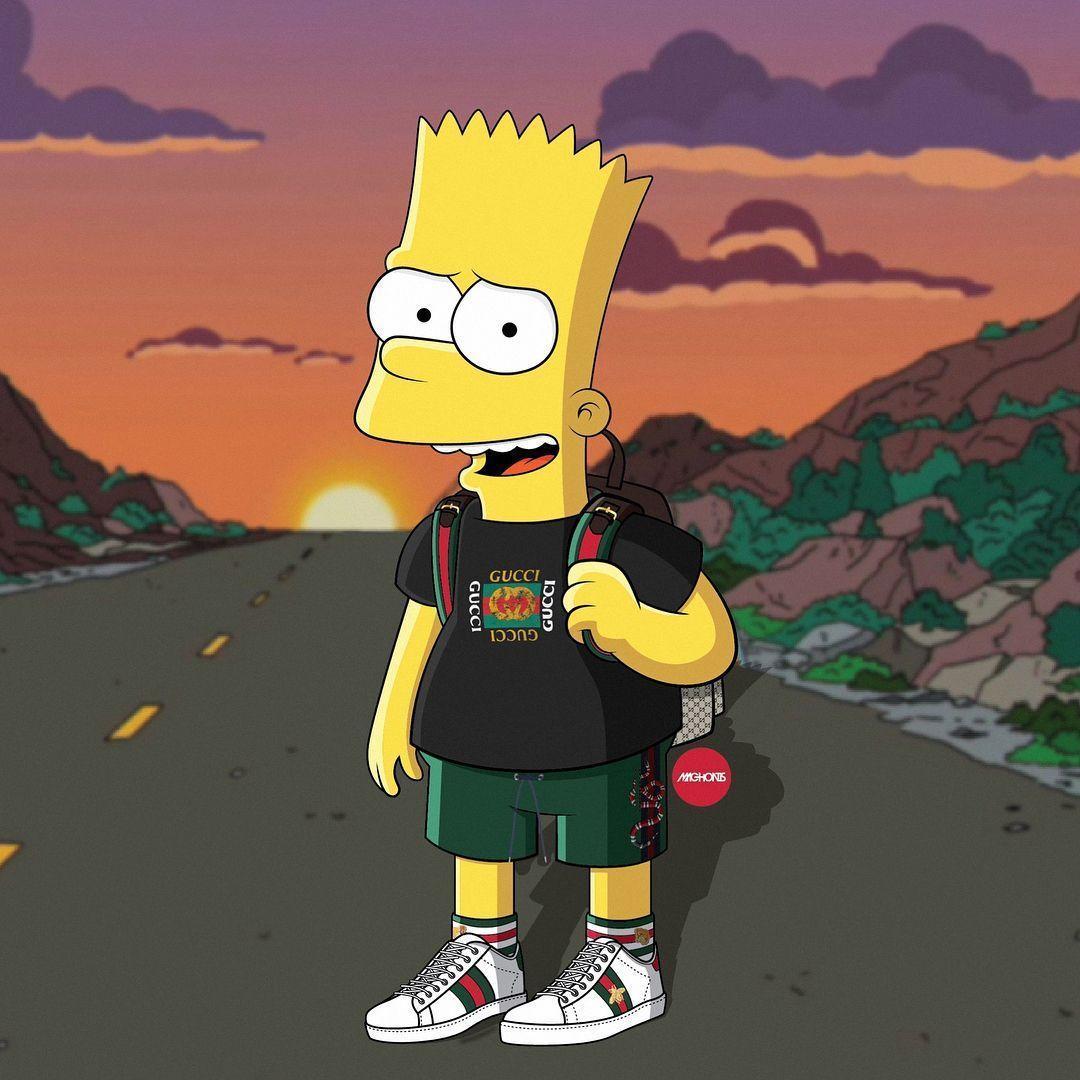 Papel De Parede Do Bart Simpsons Supreme - papel de parede ...