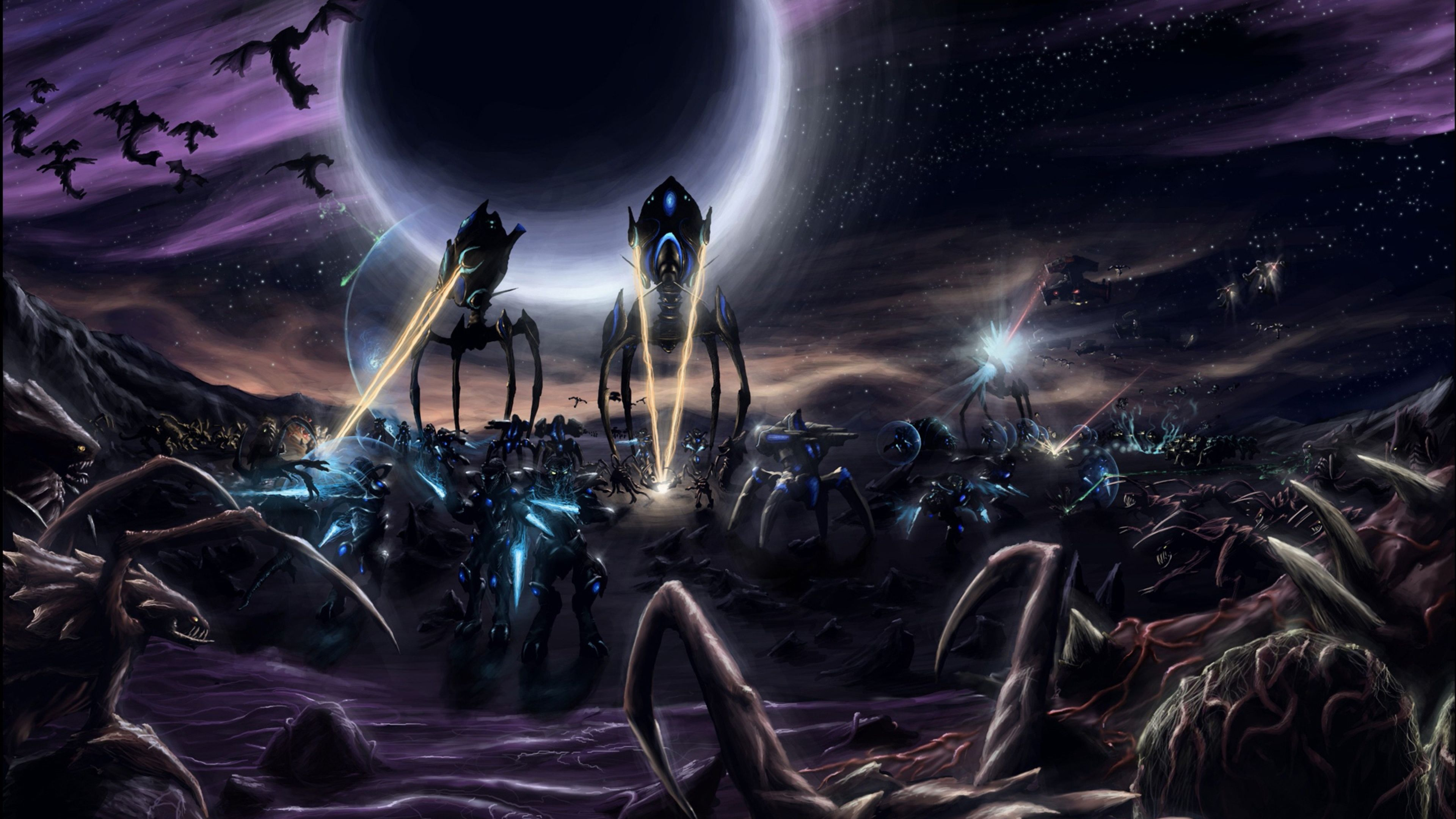 4k Starcraft Wallpapers Top Free 4k Starcraft Backgrounds