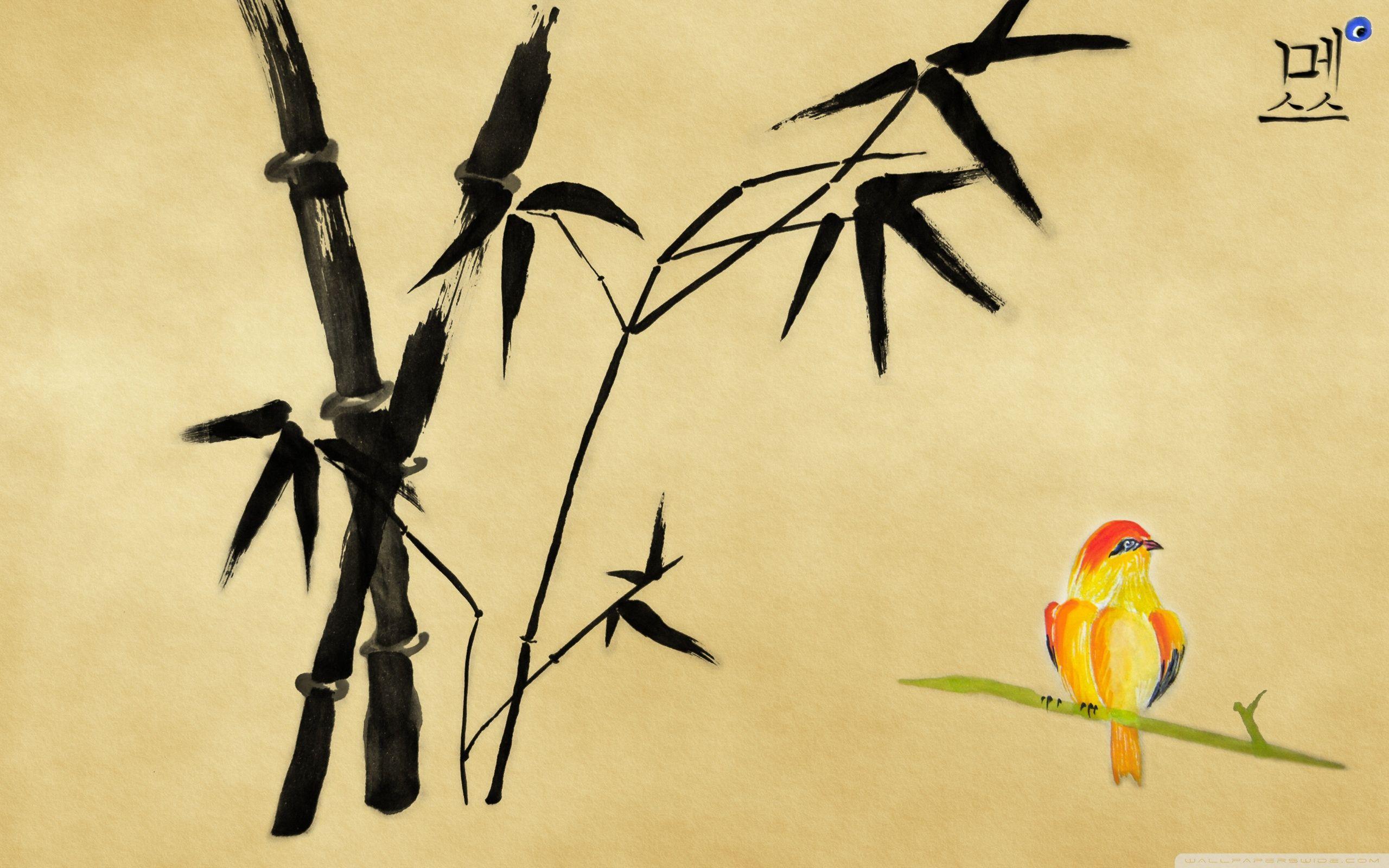 58474a51a950b6 2560x1600 Chinese Bird Painting ❤ 4K HD Desktop Wallpaper for • Dual Monitor  .
