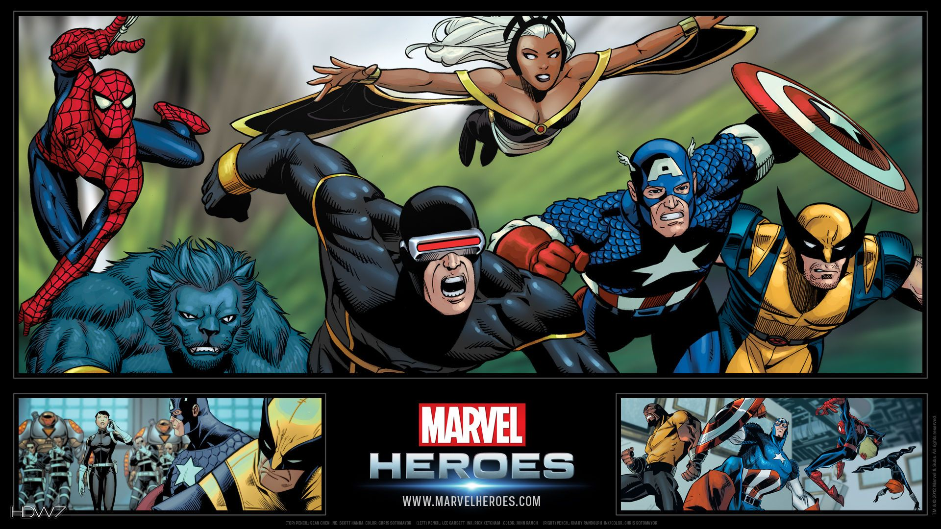 Marvel Heroes Wallpapers - Top Free Marvel Heroes