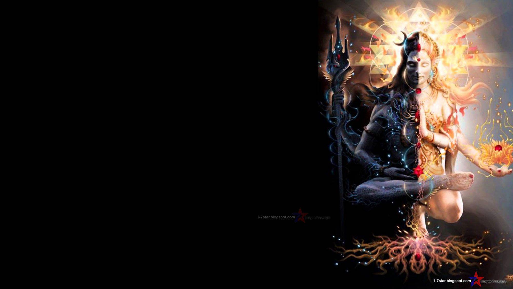 2000x1125 Chúa Shiva hình nền