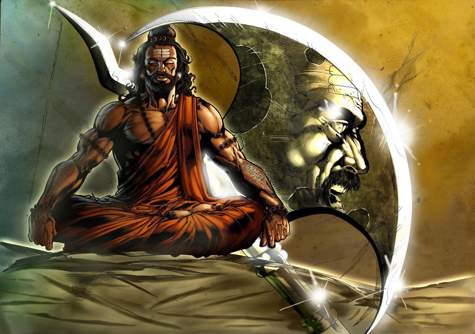 1600x1125 Angry Lord Shiva hình nền