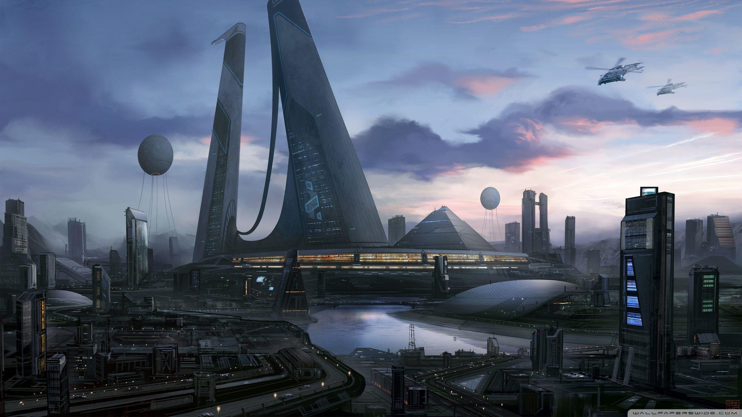 Futuristic City Wallpaper Hd: Futuristic City Wallpapers