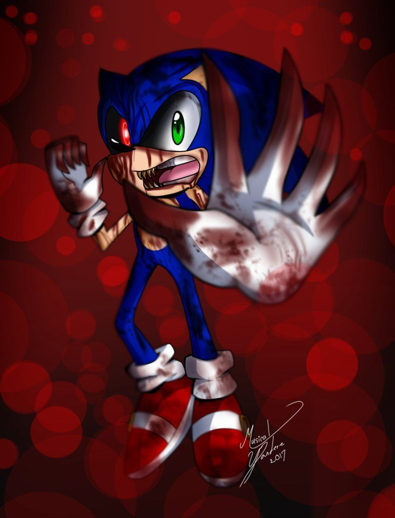 Sonic Exe Wallpapers Top Free Sonic Exe Backgrounds Wallpaperaccess