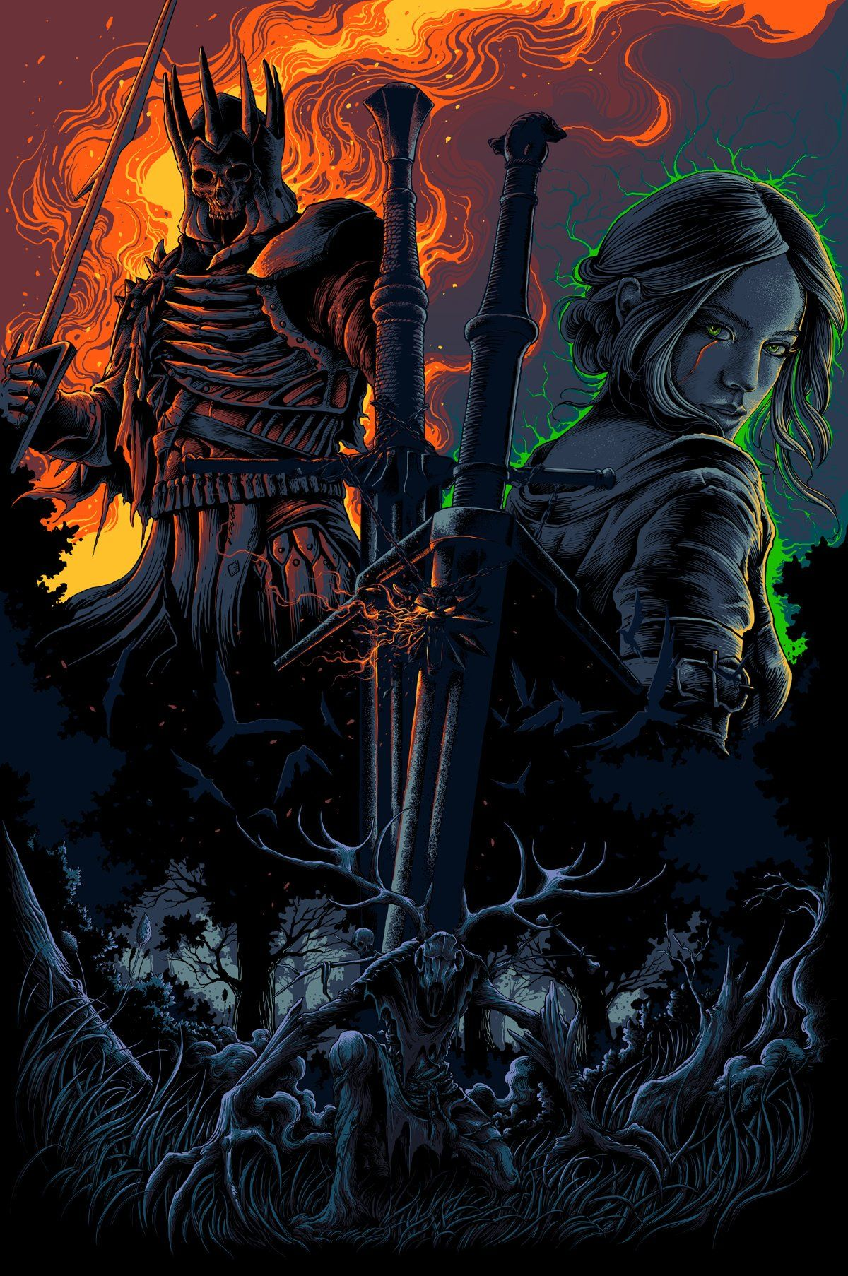 Witcher Phone Wallpapers Top Free Witcher Phone Backgrounds