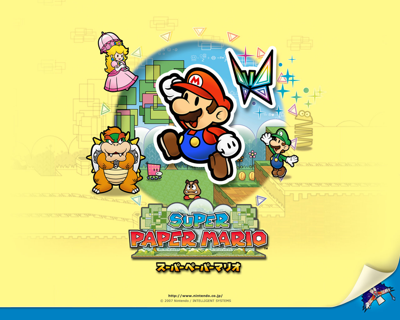 Paper Mario Wallpapers Top Free Paper Mario Backgrounds