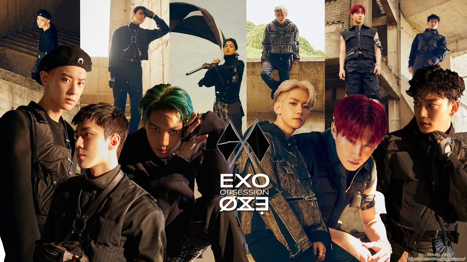 Exo Obsession Wallpapers Top Free Exo Obsession Backgrounds