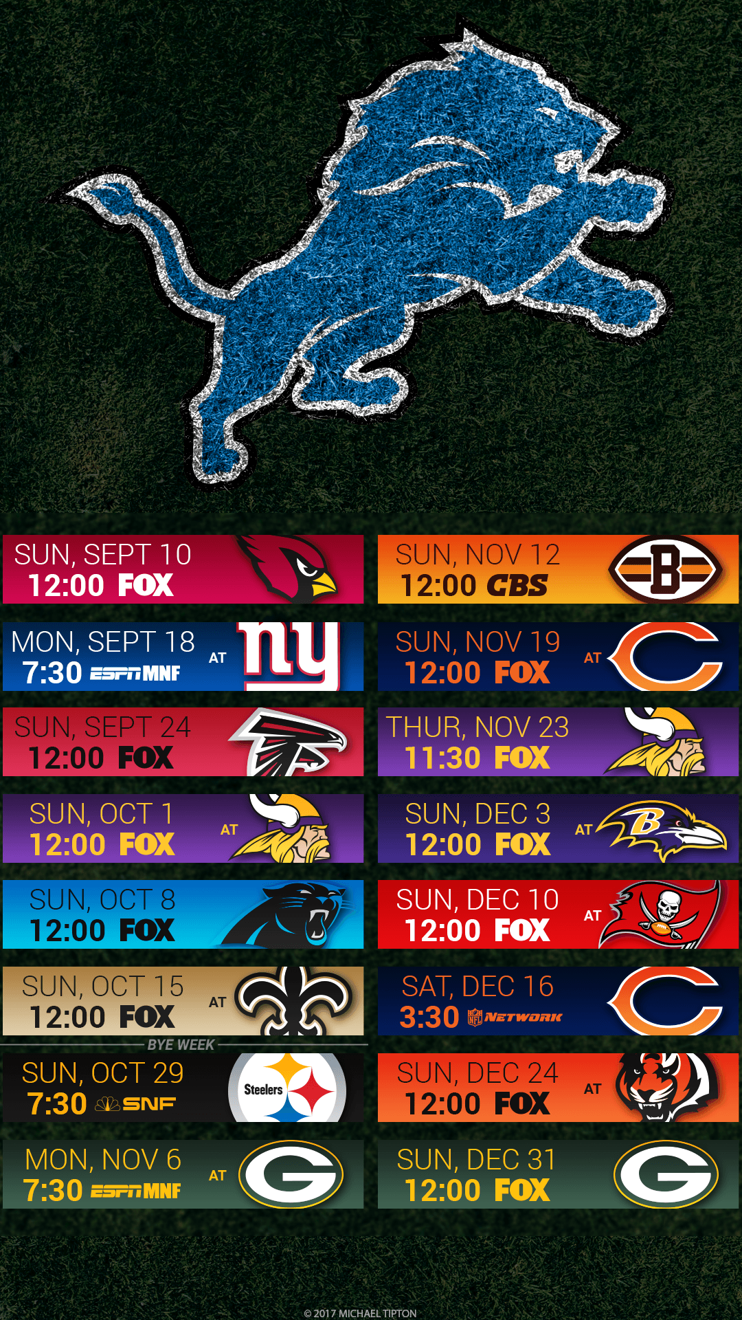 picture regarding Detroit Lions Printable Schedule named Detroit Lions apple iphone Wallpapers - Greatest Totally free Detroit Lions