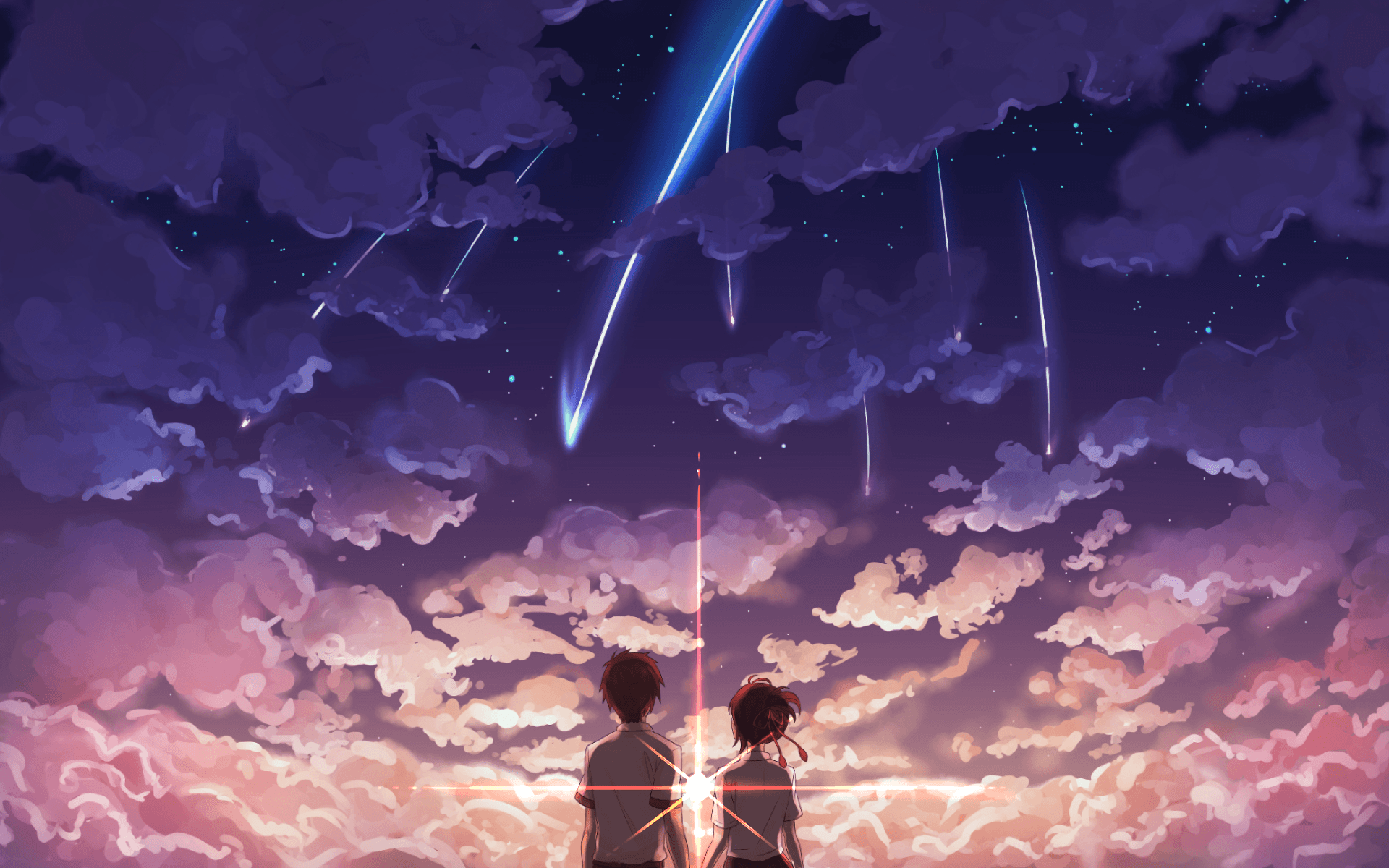 Anime Your Name Desktop Wallpapers Top Free Anime Your Name Desktop Backgrounds Wallpaperaccess