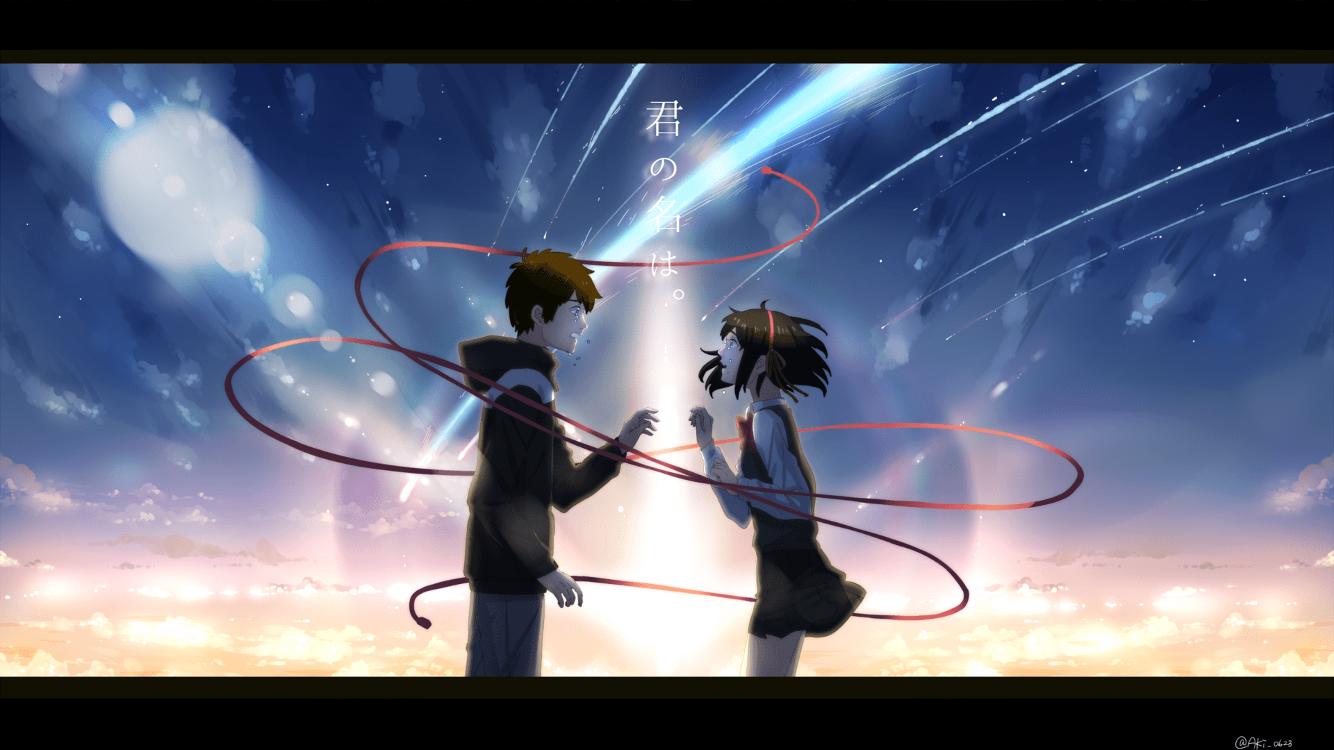 55 Best Free Your Name Anime Wallpapers Wallpaperaccess