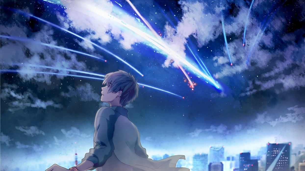 Your Name Anime Wallpapers Top Free Your Name Anime Backgrounds Wallpaperaccess
