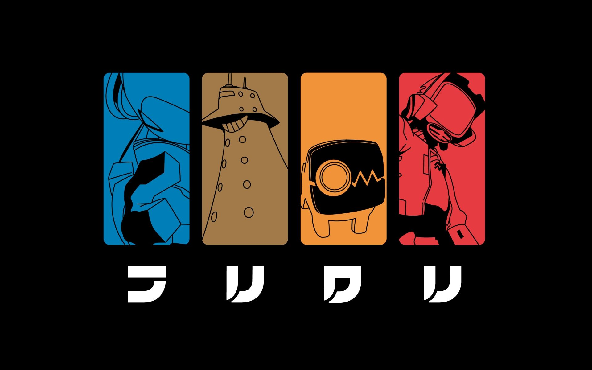 Flcl Wallpapers Top Free Flcl Backgrounds Wallpaperaccess