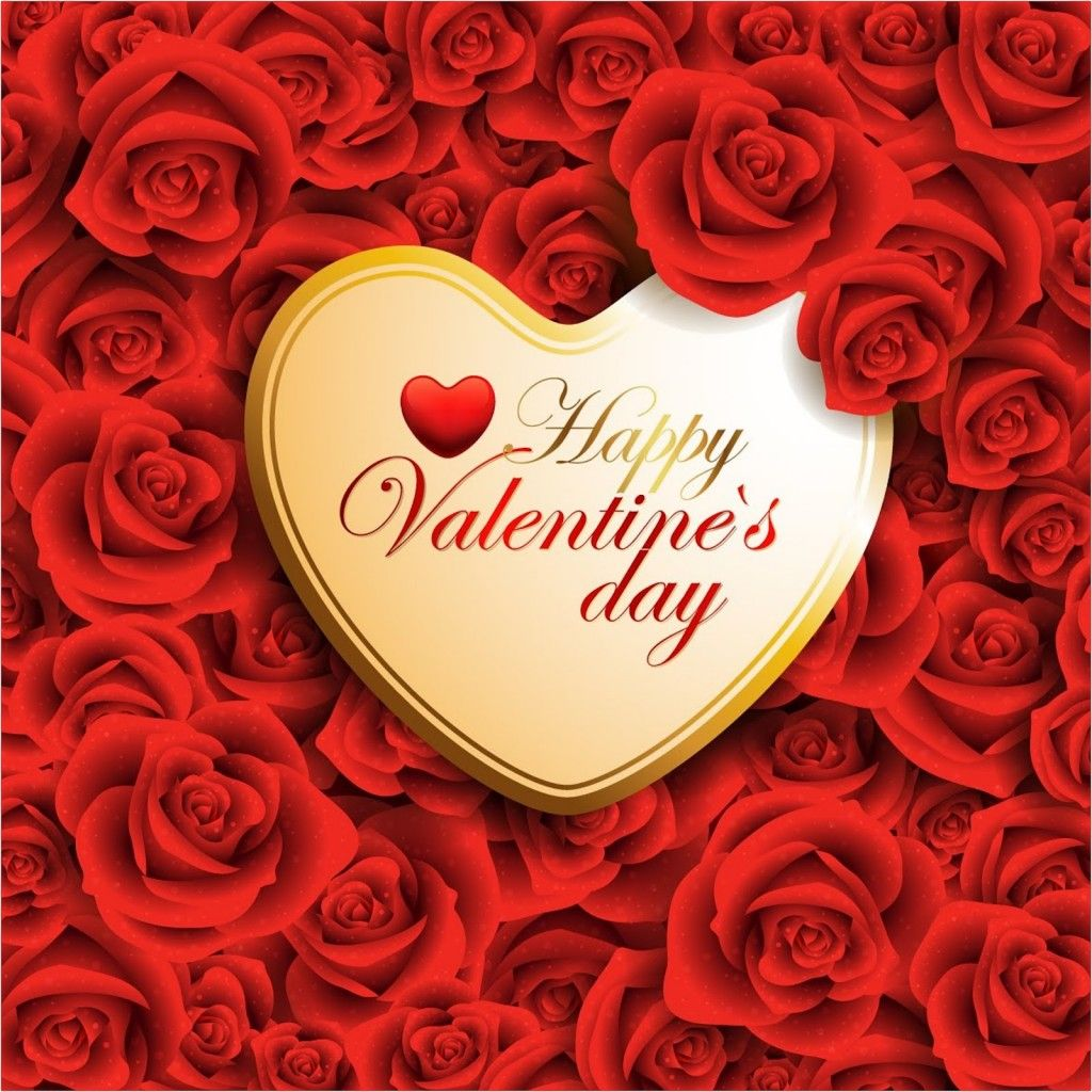 1024x1024 Cute Happy Valentines Day Quotes HD Wallpaper, Background Image