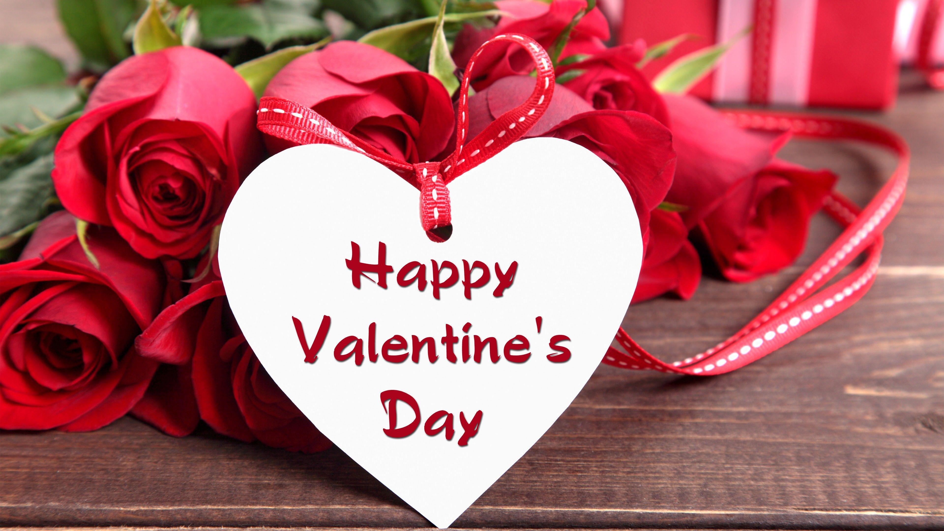 3840x2160 Happy Valentines Day Image, Pics, Photo & Wallpaper