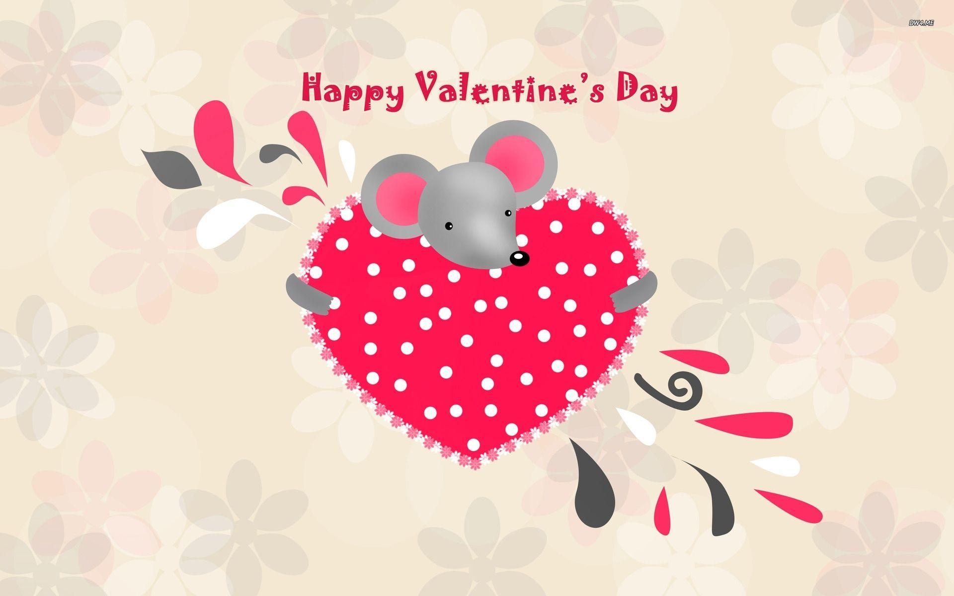 1920x1200 Cute Happy Valentine Day Wallpaper Desktop. Free Download GameFree