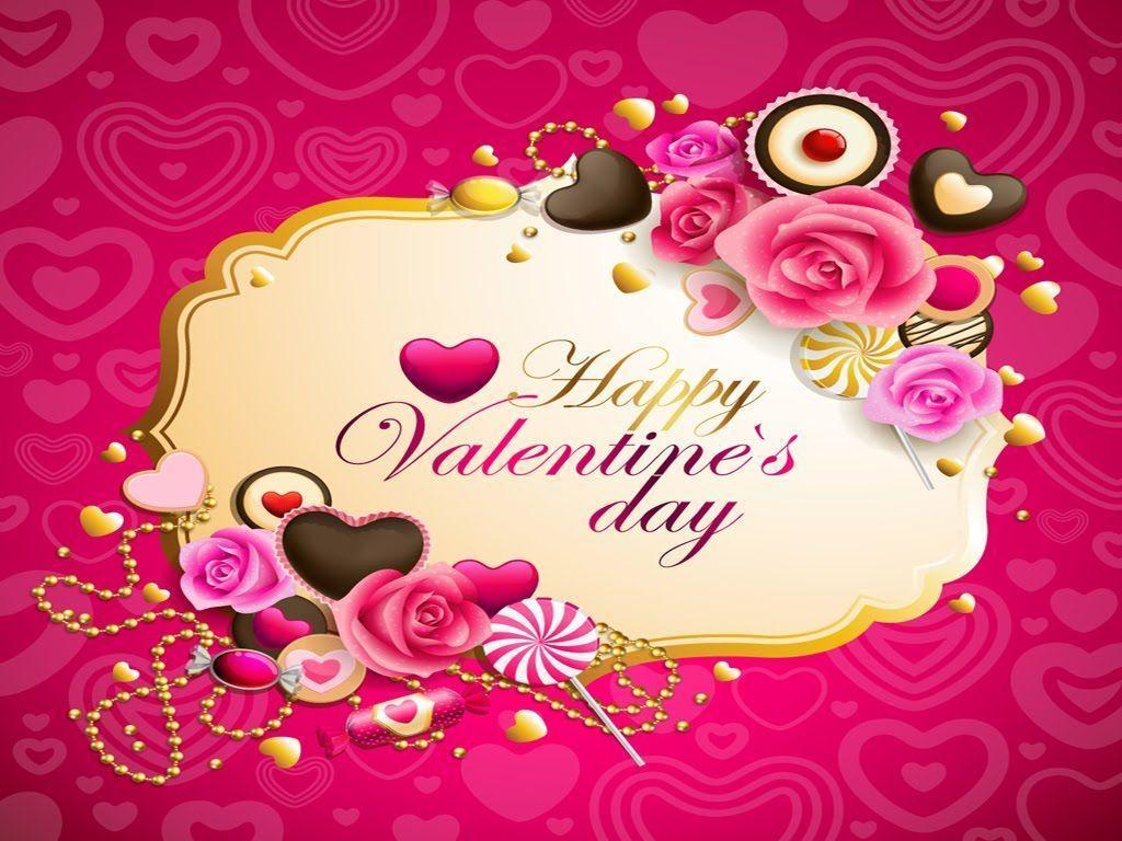 1024x768 Cute Valentine's Day Wallpaper. Cute Valentines Day Background