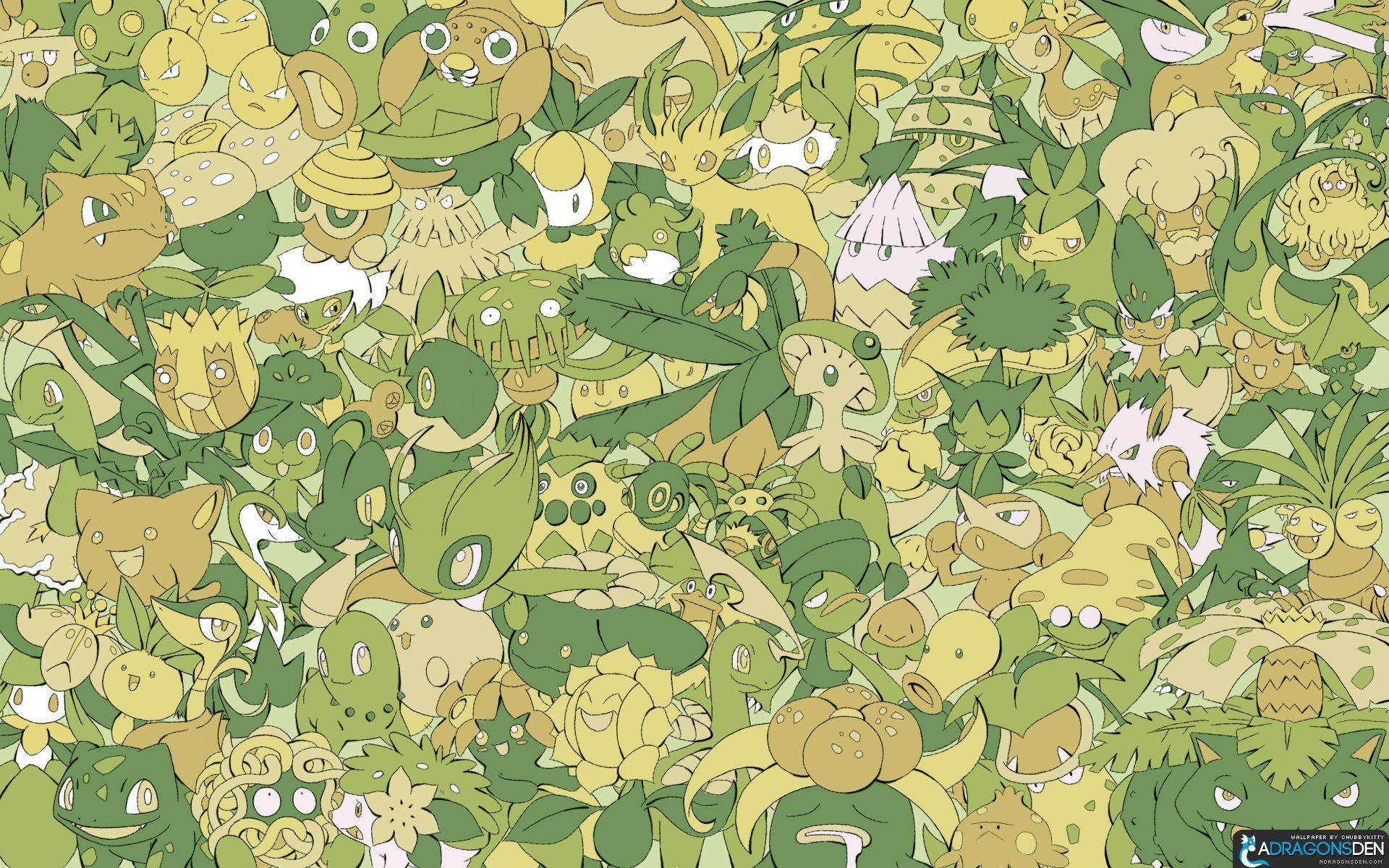 Grass Pokemon Wallpapers Top Free Grass Pokemon Backgrounds