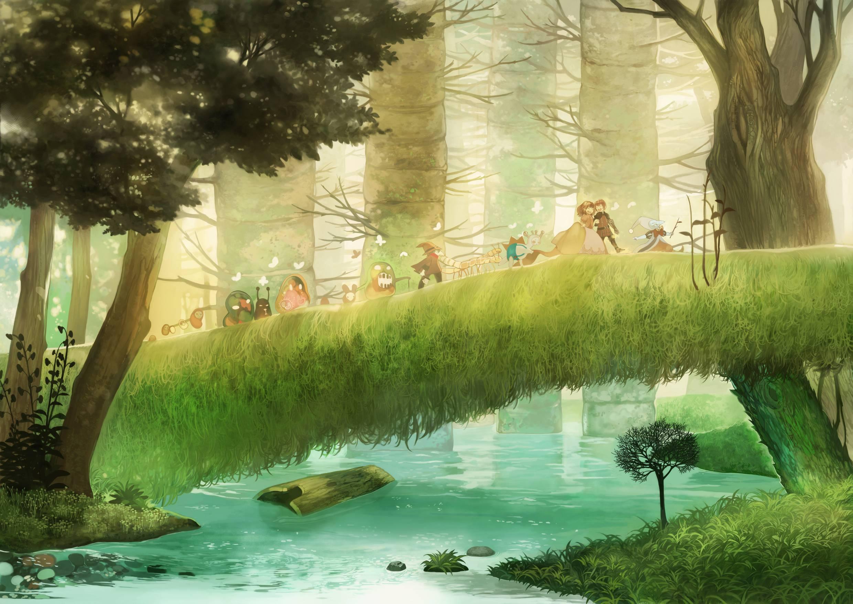 Pokemon Landscape Wallpapers - Top Free Pokemon Landscape Backgrounds - WallpaperAccess