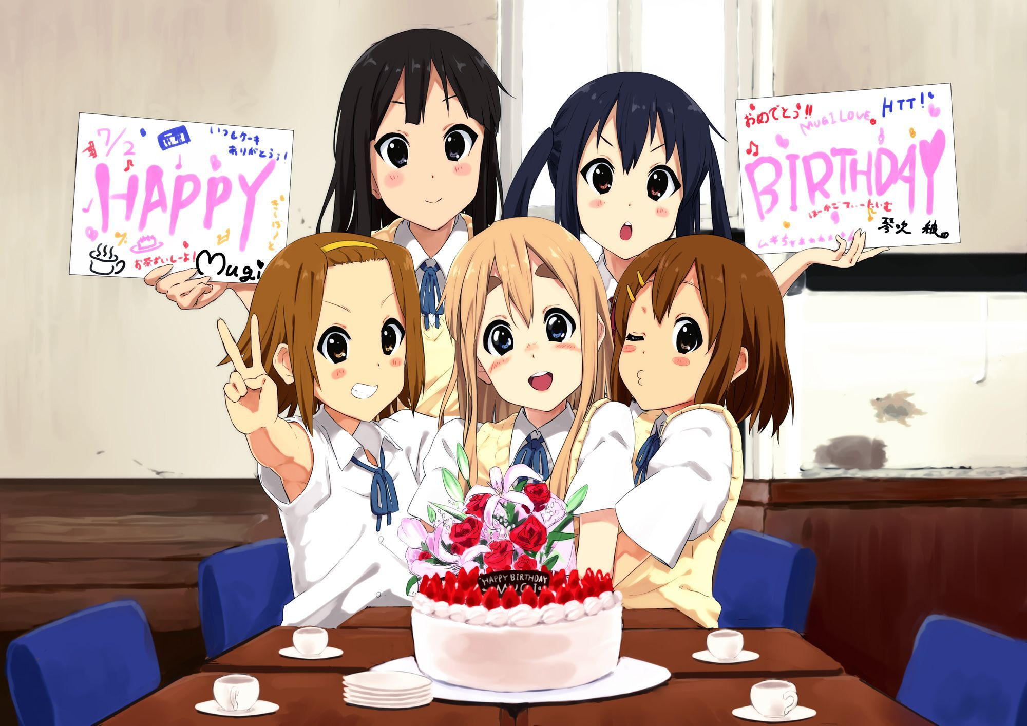 Happy Birthday Anime Wallpapers - Top Free Happy Birthday Anime Backgrounds  - WallpaperAccess