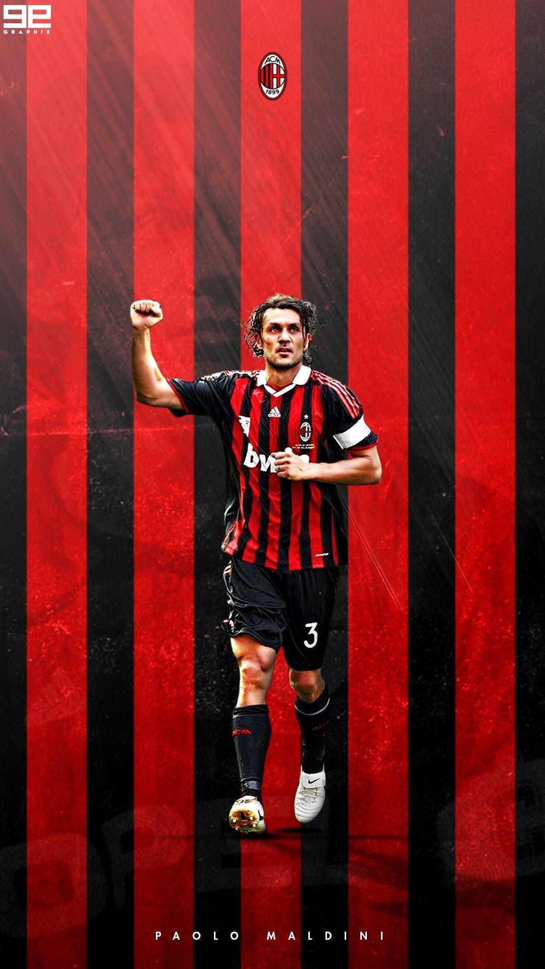 Paolo Maldini Wallpapers Top Free Paolo Maldini Backgrounds Wallpaperaccess