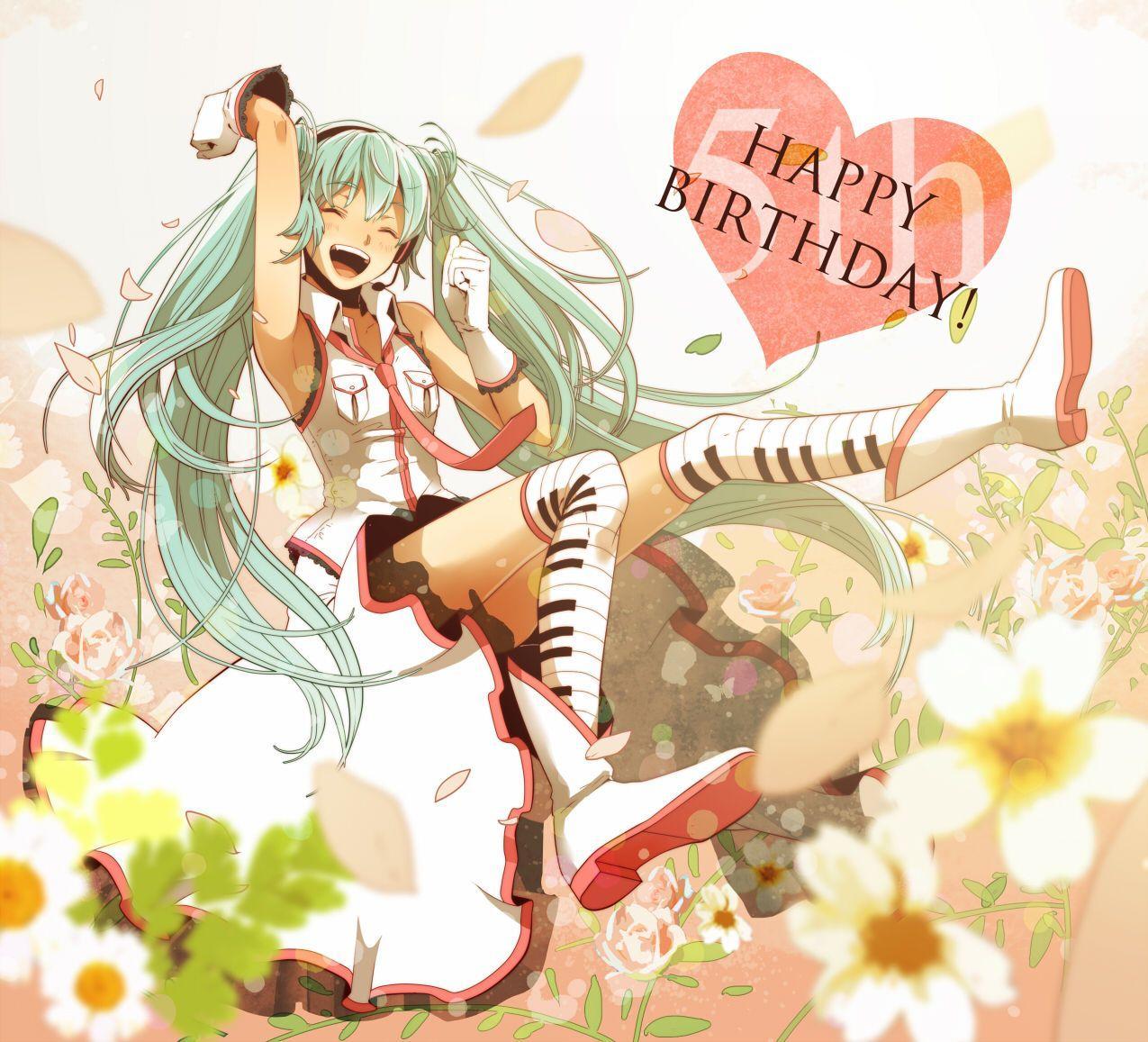 Happy Birthday Anime Wallpapers - Top Free Happy Birthday ...