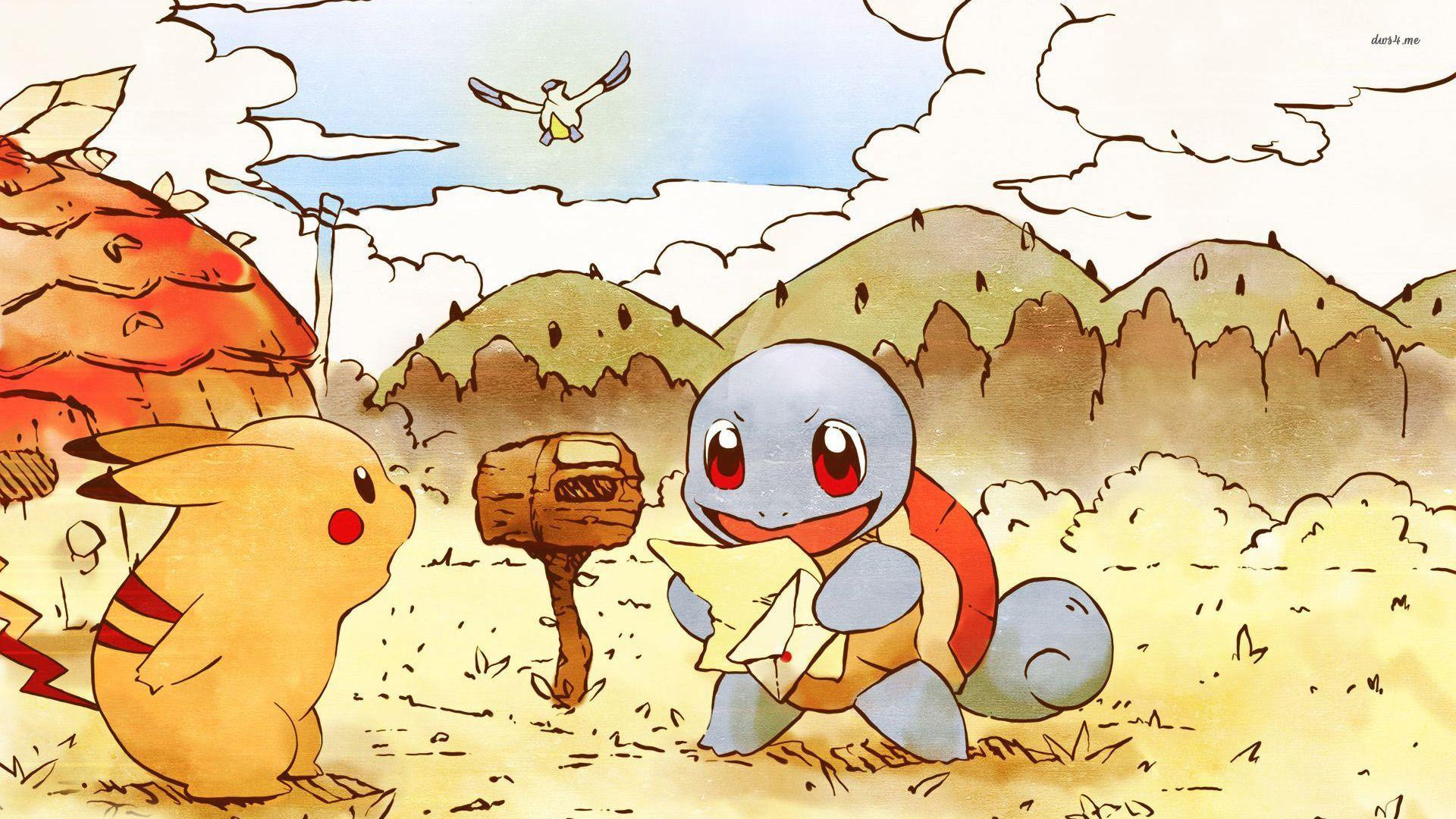 1920x1080 Pikachu hình nền